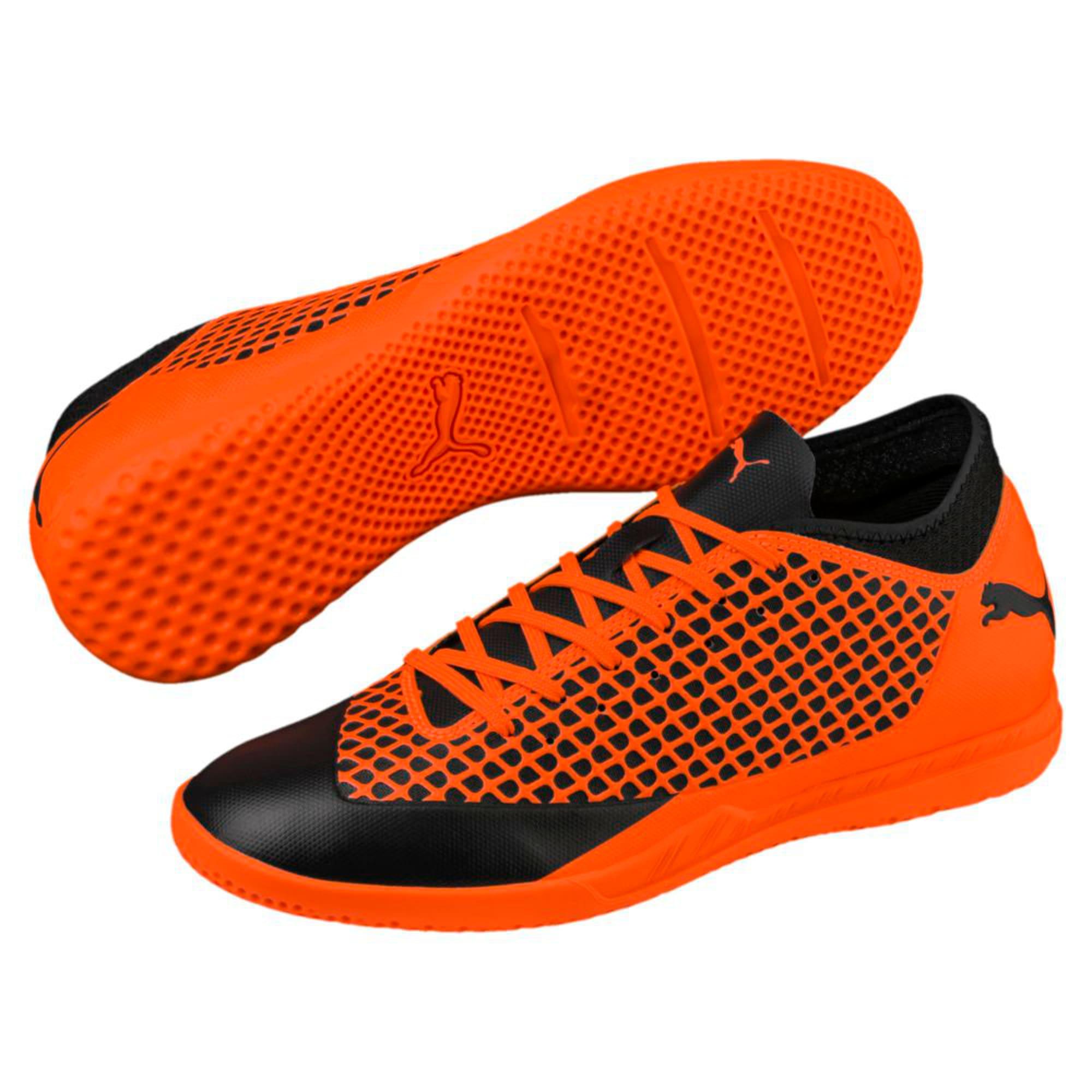Thumbnail 6 of FUTURE 2.4 IT  Football Shoes, Black-Orange, medium-IND