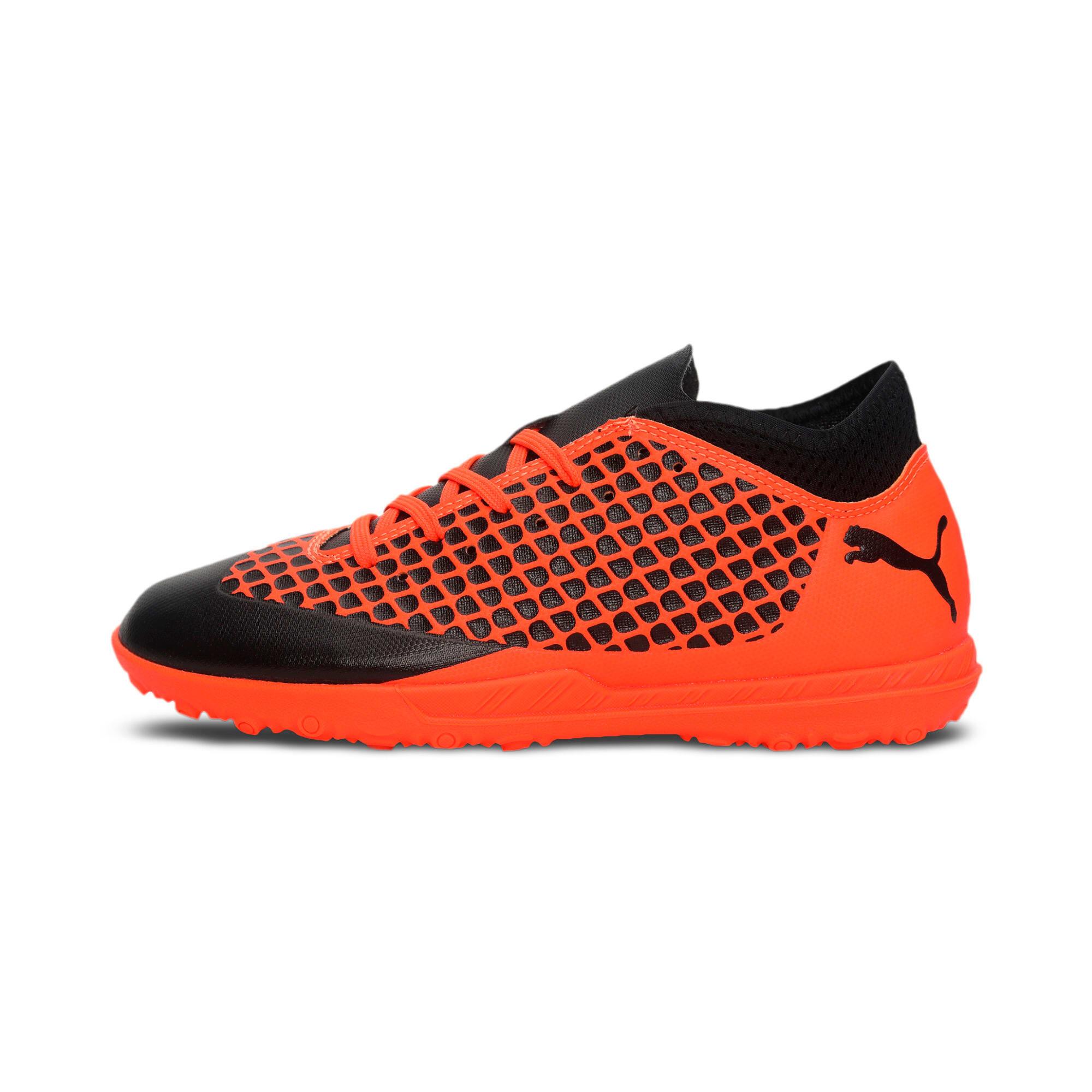 Thumbnail 1 of FUTURE 2.4 TT Kids' Football Boots, Black-Orange, medium-IND