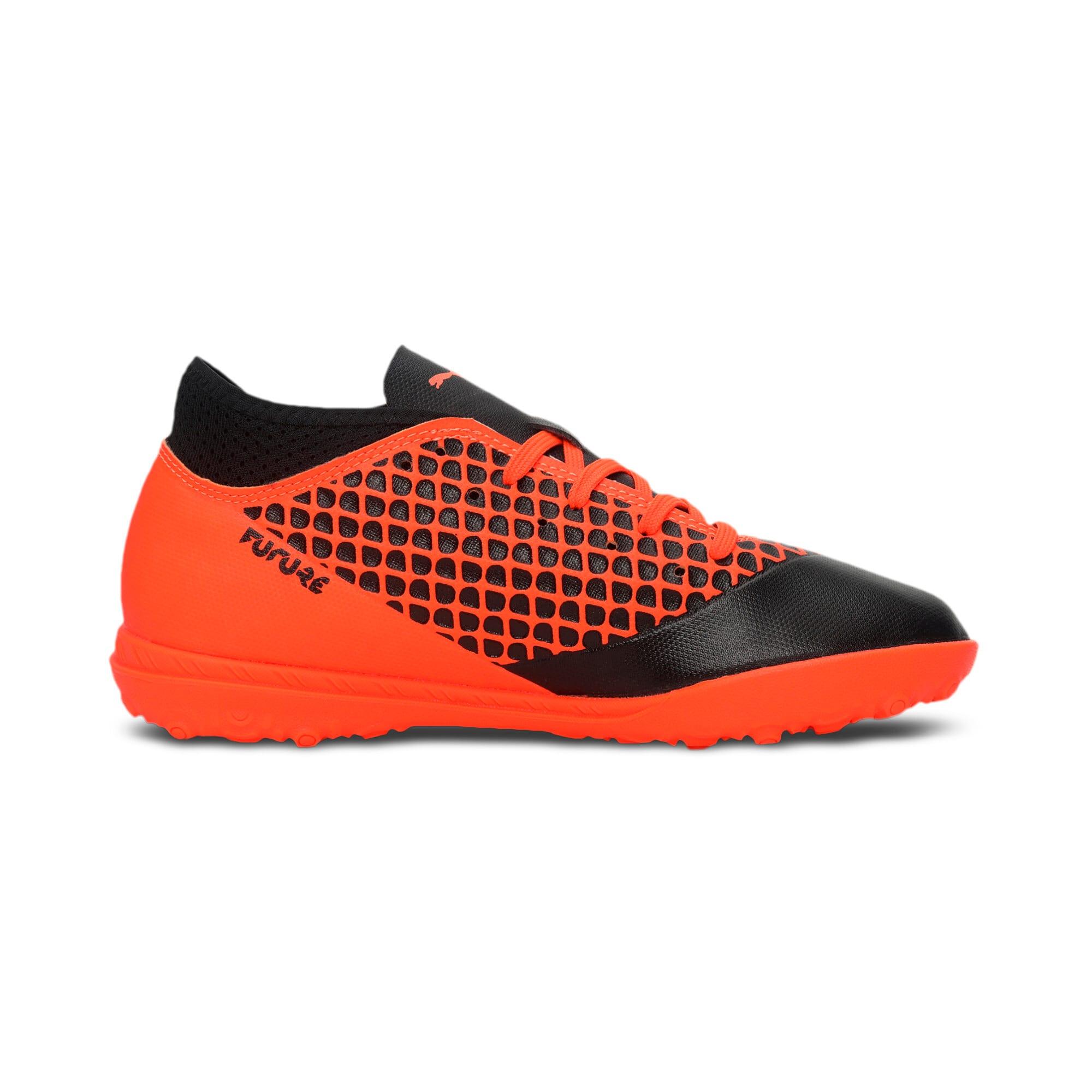 Thumbnail 5 of FUTURE 2.4 TT Kids' Football Boots, Black-Orange, medium-IND