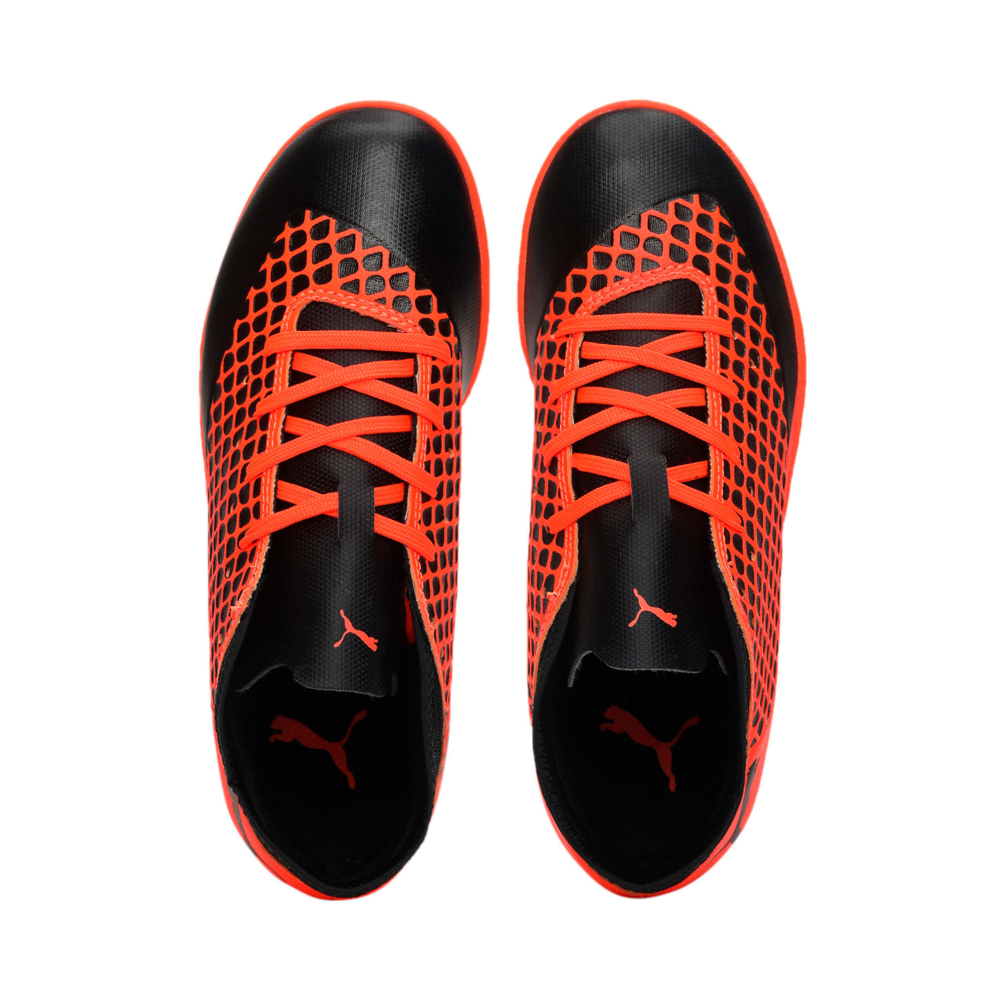 Thumbnail 6 of FUTURE 2.4 TT Kids' Football Boots, Black-Orange, medium-IND