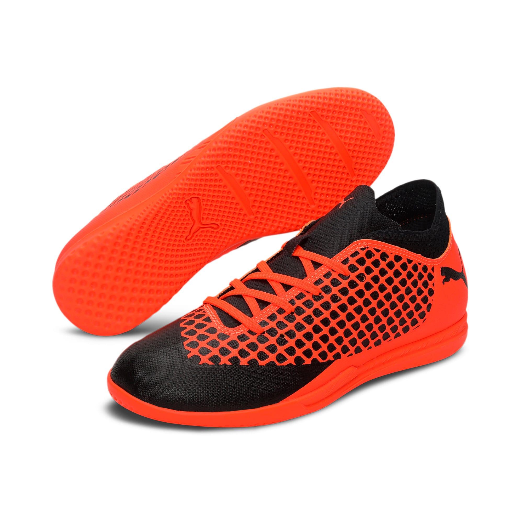 Thumbnail 2 of FUTURE 2.4 IT Kids' Football Shoes, Black-Orange, medium-IND