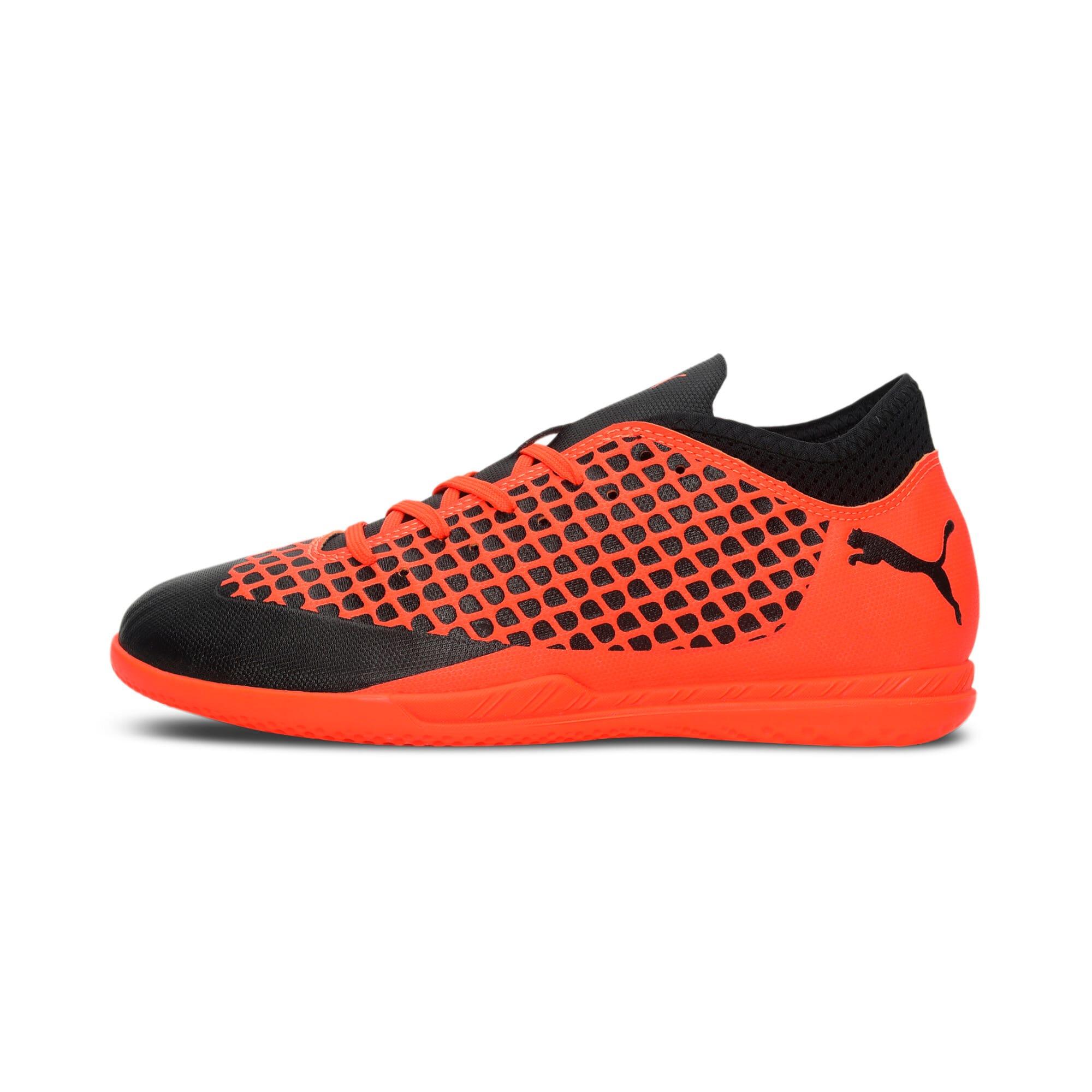 Thumbnail 1 of FUTURE 2.4 IT Kids' Football Shoes, Black-Orange, medium-IND