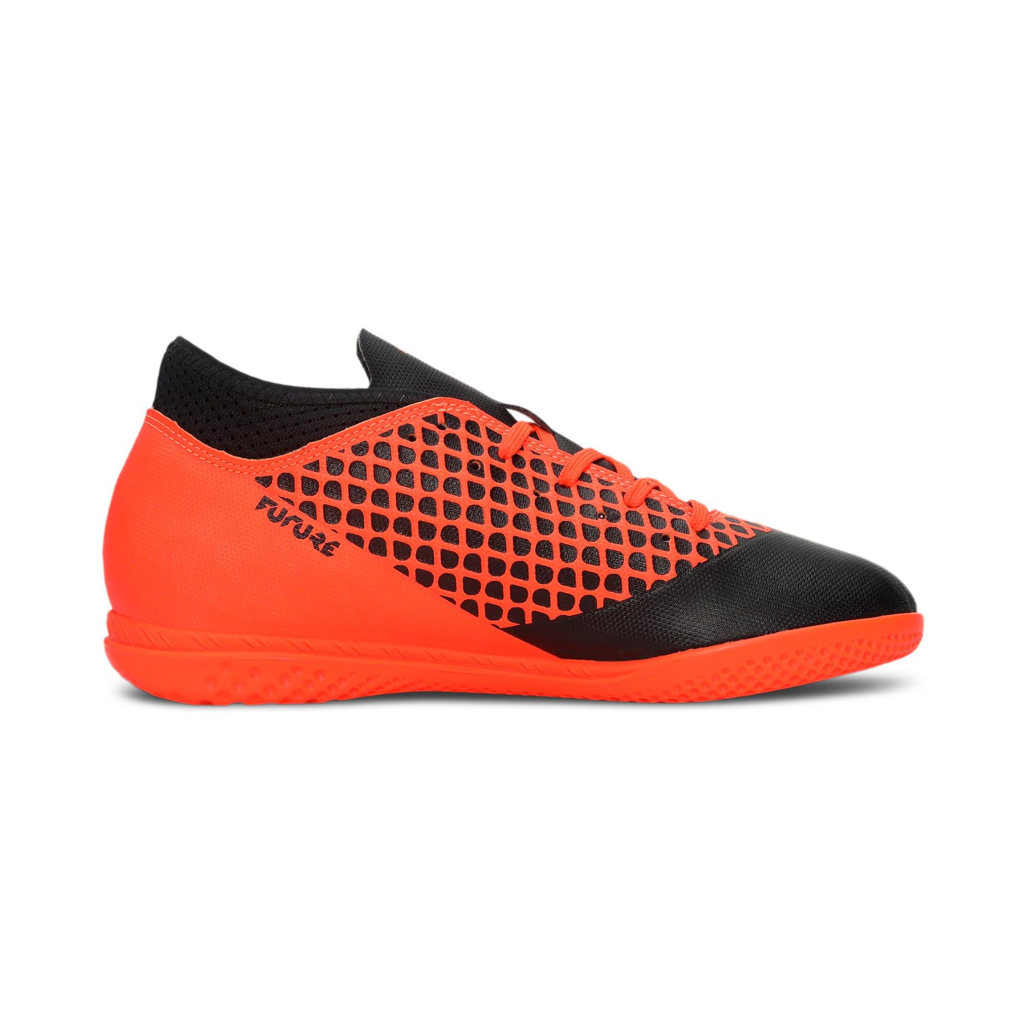 Thumbnail 5 of FUTURE 2.4 IT Kids' Football Shoes, Black-Orange, medium-IND