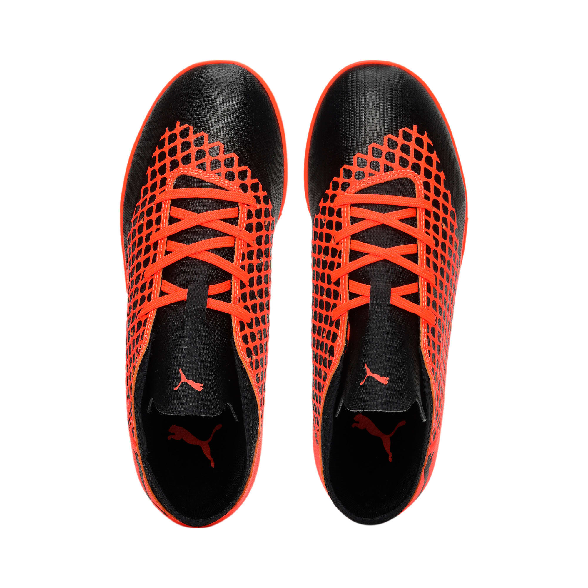Thumbnail 6 of FUTURE 2.4 IT Kids' Football Shoes, Black-Orange, medium-IND