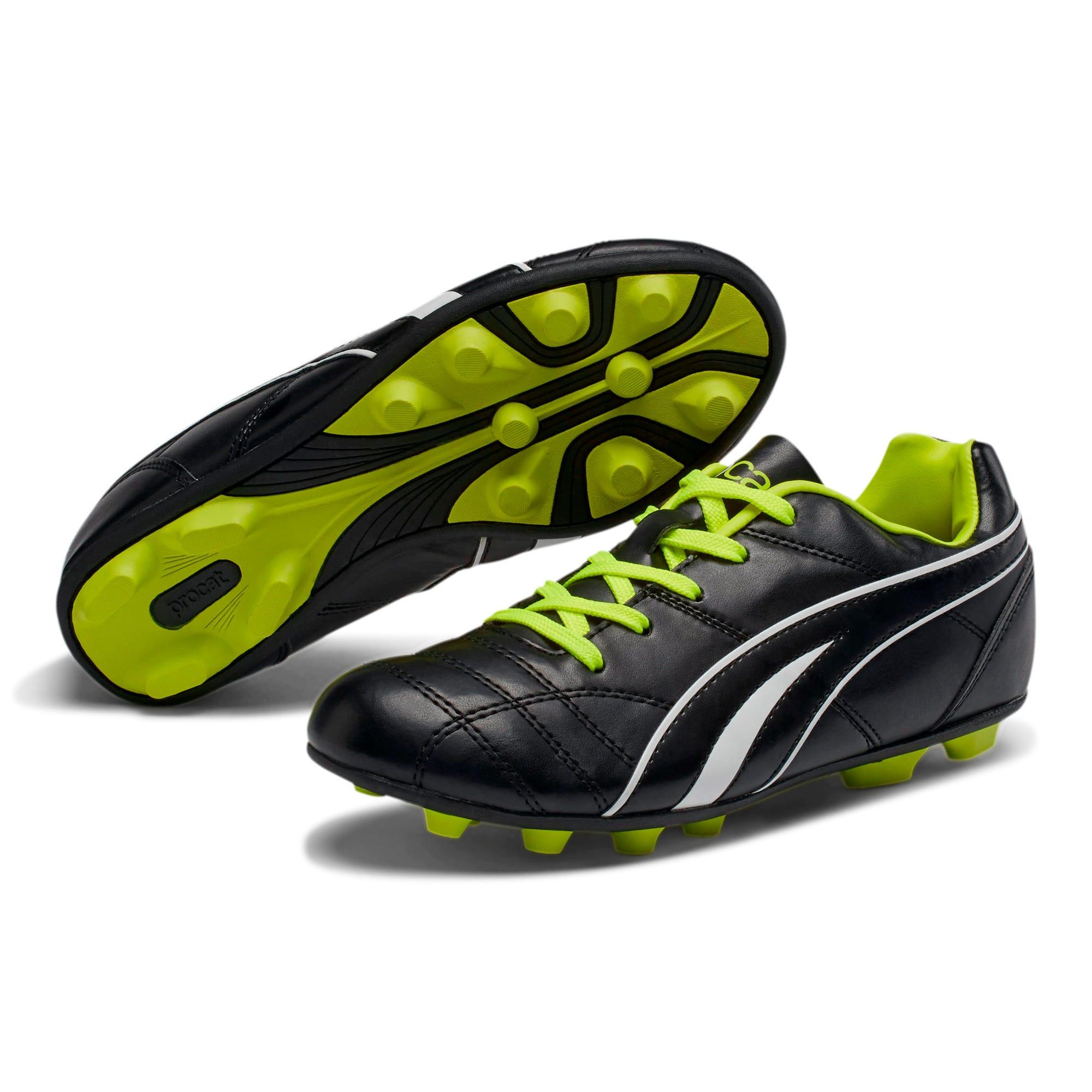 Thumbnail 2 of ProCat Boys' Soccer Shoes JR, Black-Puma White-Red Blast, medium