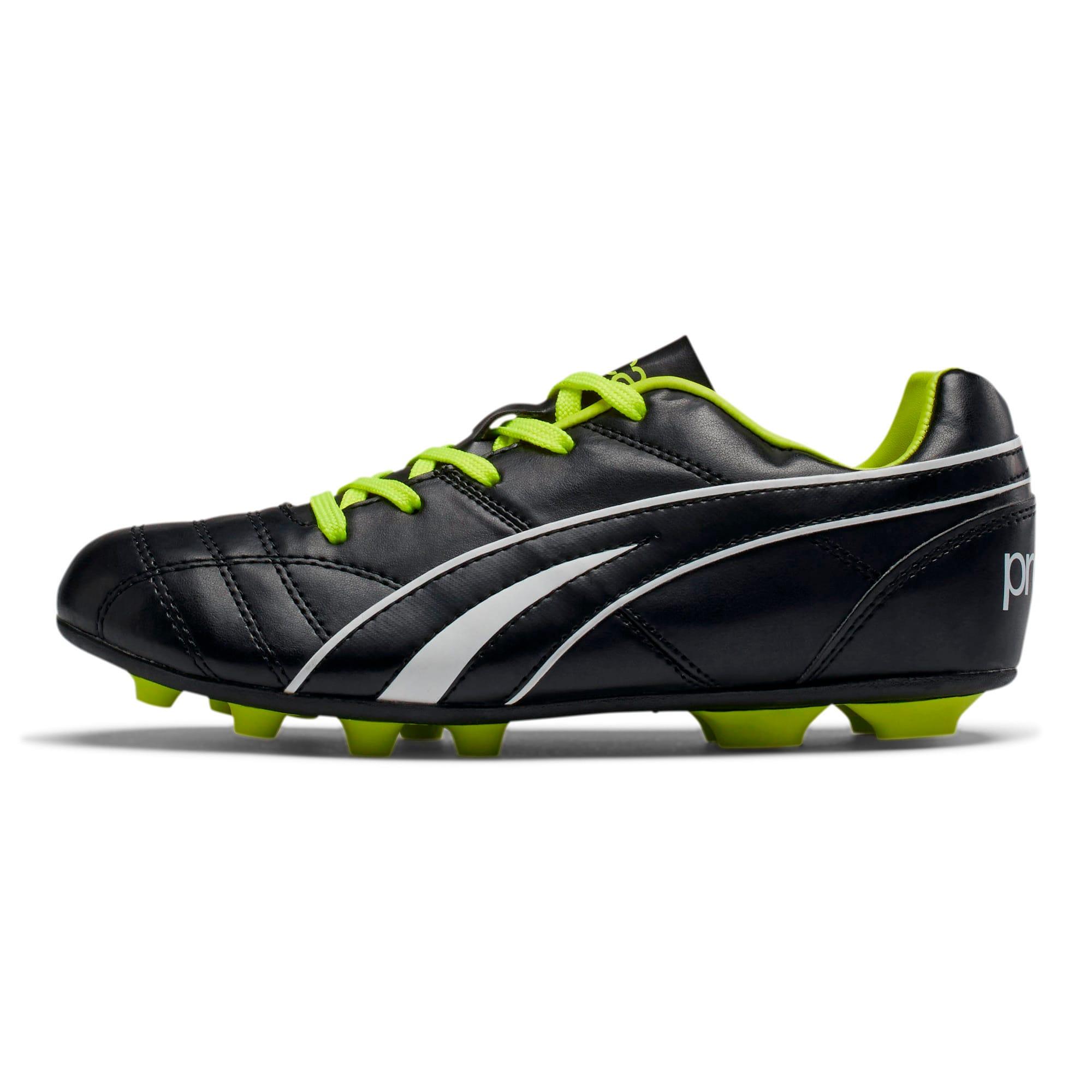 Thumbnail 1 of ProCat Boys' Soccer Shoes JR, Black-Puma White-Red Blast, medium