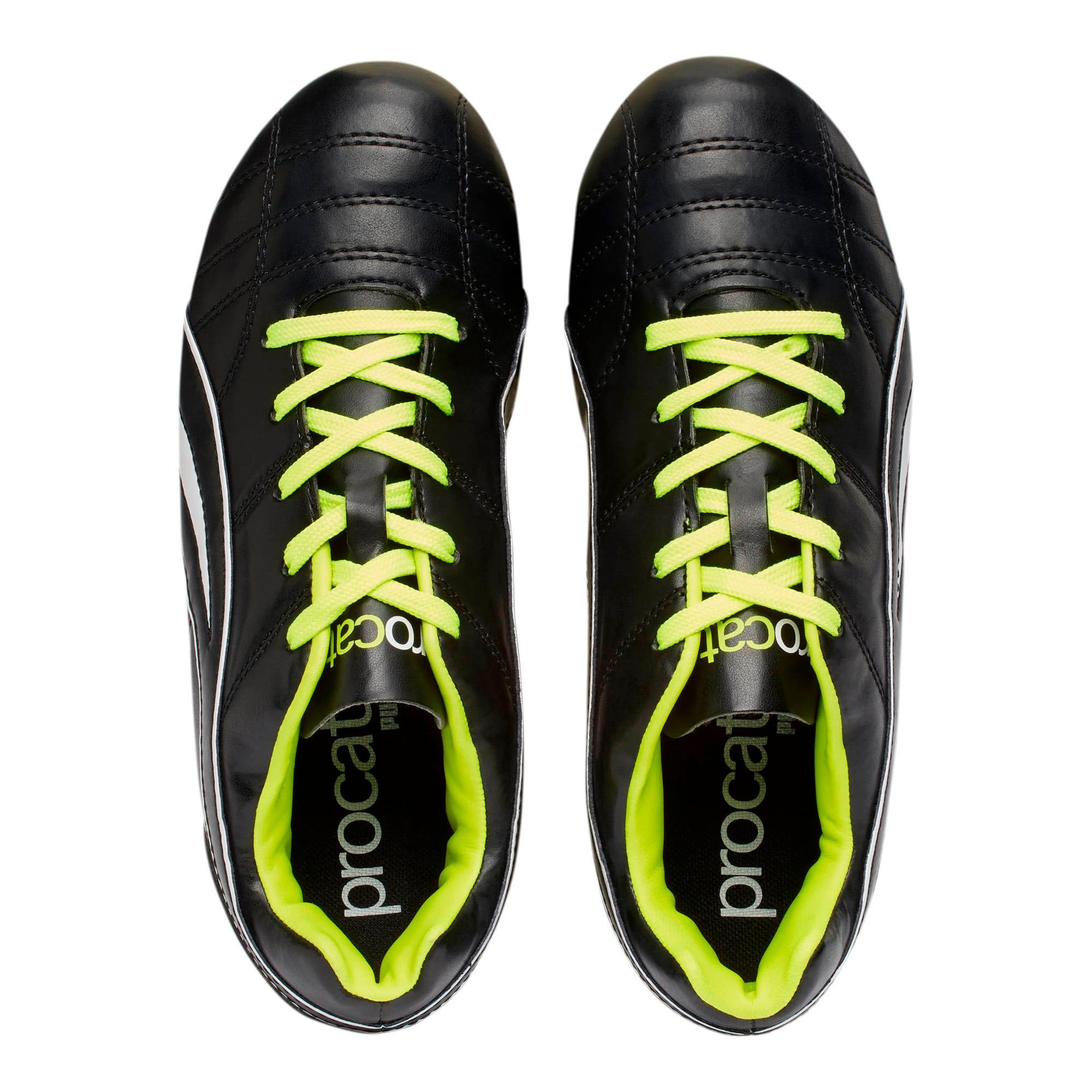 Thumbnail 6 of ProCat Boys' Soccer Shoes JR, Black-Puma White-Red Blast, medium