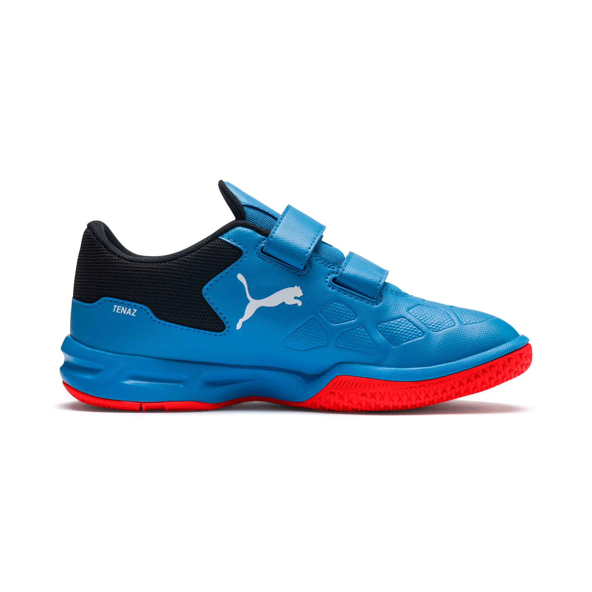 Thumbnail 2 of Tenaz V Youth Trainers, Bleu Azur-White-Black-Red, medium-IND