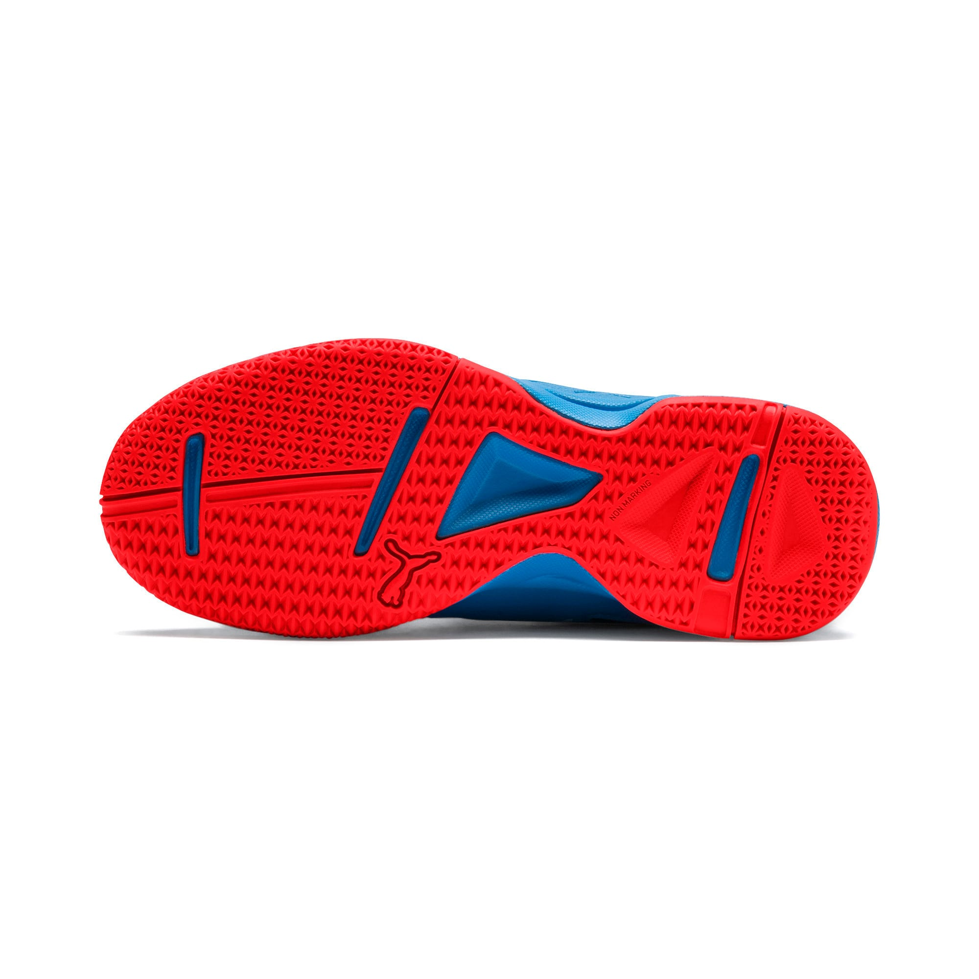 Thumbnail 4 of Tenaz V Youth Trainers, Bleu Azur-White-Black-Red, medium-IND