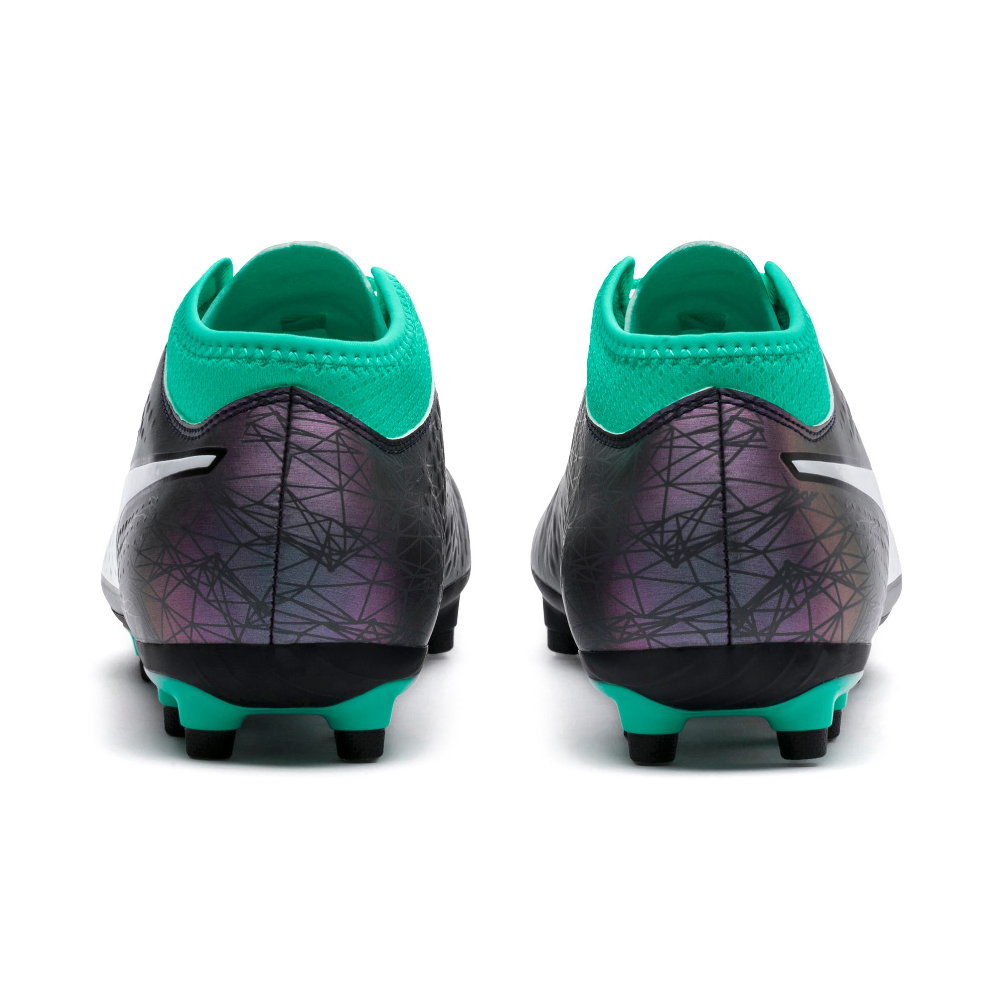 Thumbnail 3 of PUMA ONE 4 IL Syn FG Color Shift-Biscay, Col Shift-Green-White-Black, medium-IND