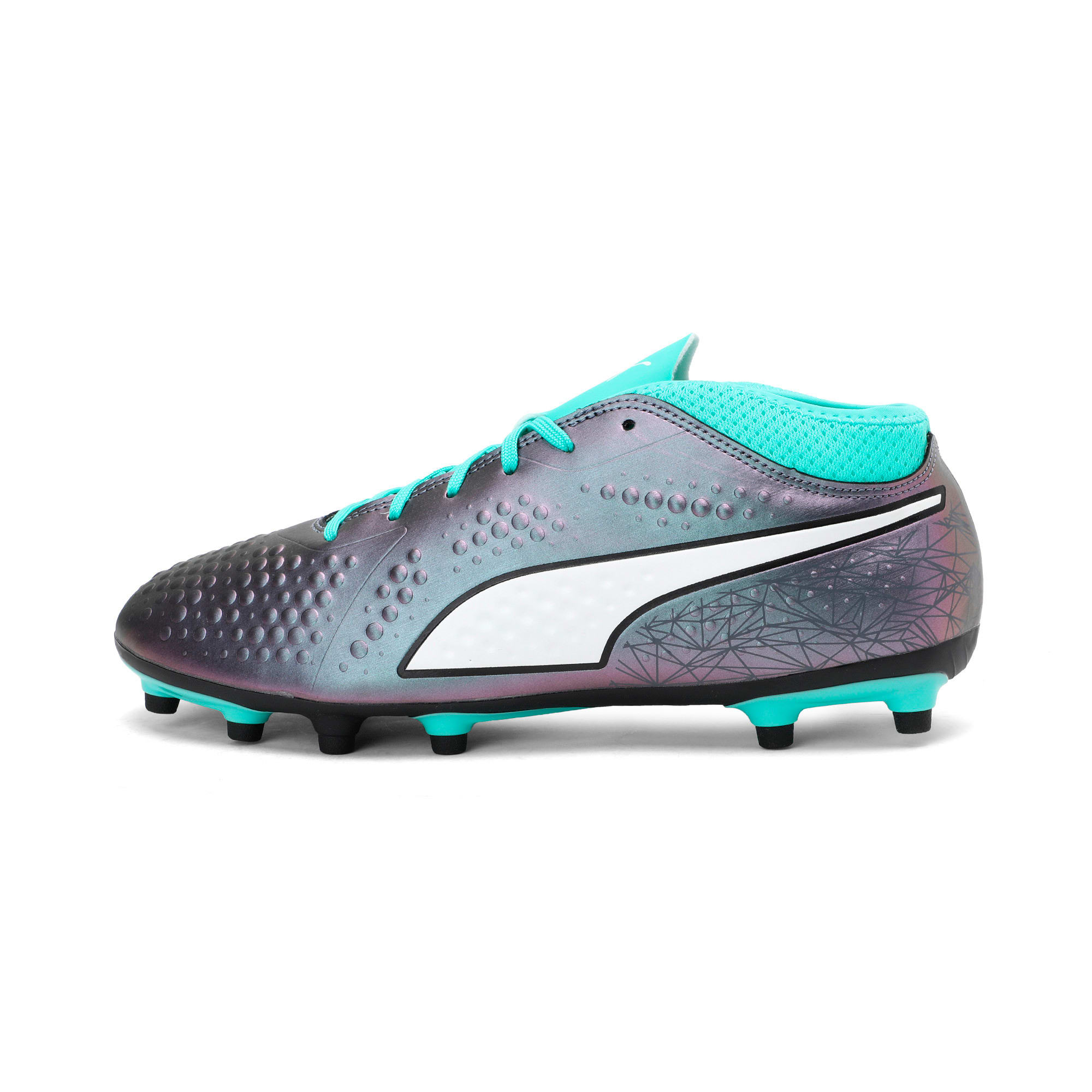 Thumbnail 1 of PUMA ONE 4 IL Syn FG Color Shift-Biscay, Col Shift-Green-White-Black, medium-IND