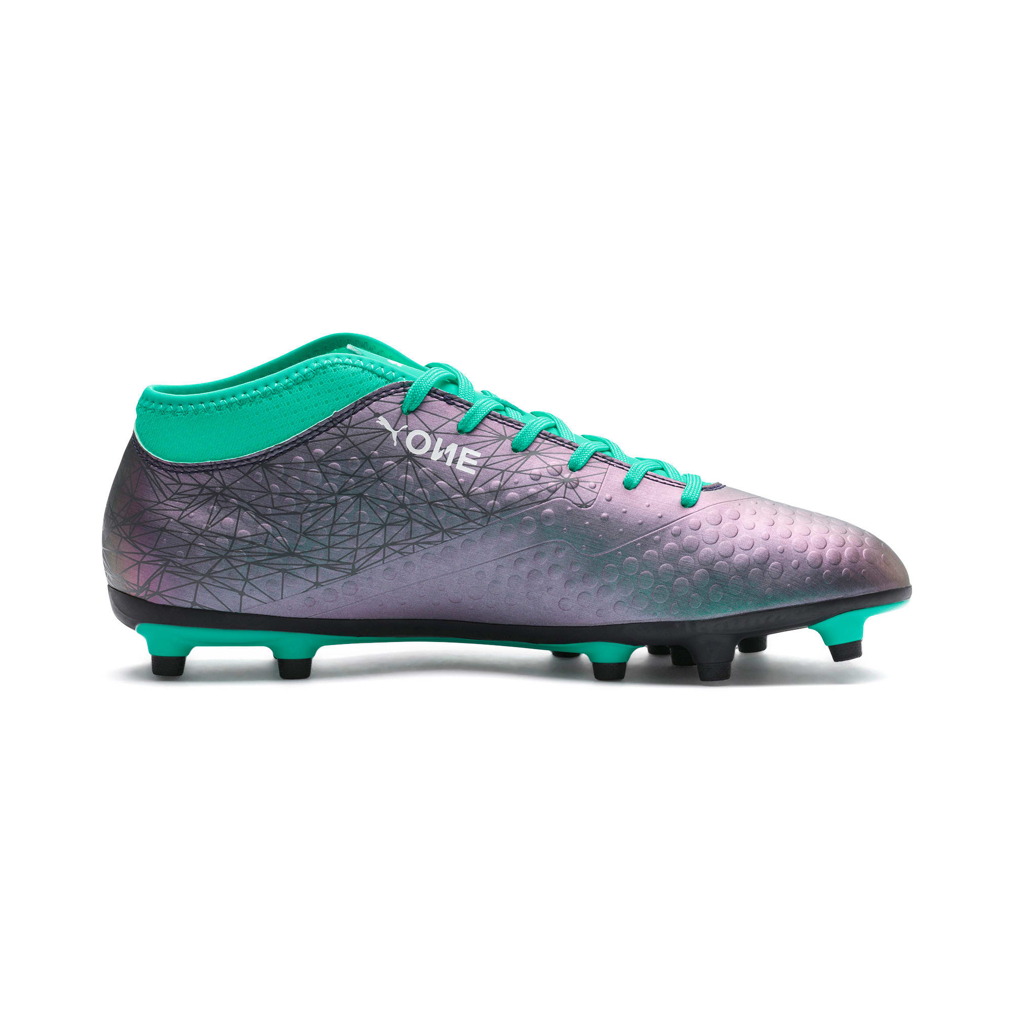 Thumbnail 5 of PUMA ONE 4 IL Syn FG Color Shift-Biscay, Col Shift-Green-White-Black, medium-IND