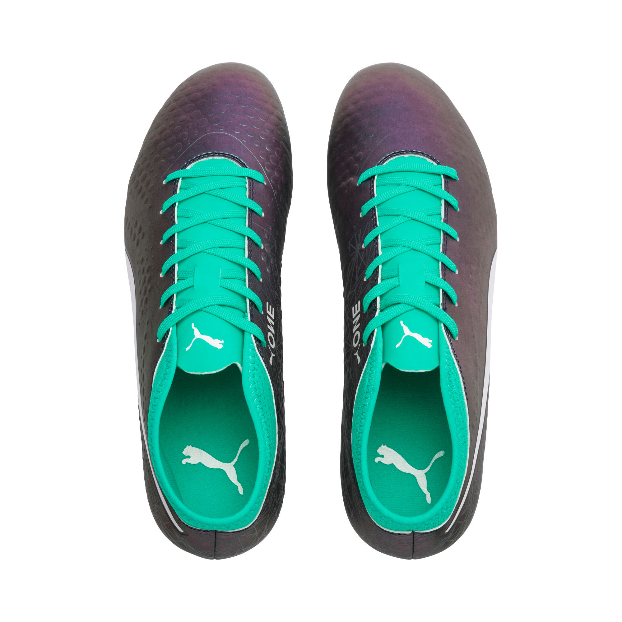 Thumbnail 6 of PUMA ONE 4 IL Syn FG Color Shift-Biscay, Col Shift-Green-White-Black, medium-IND