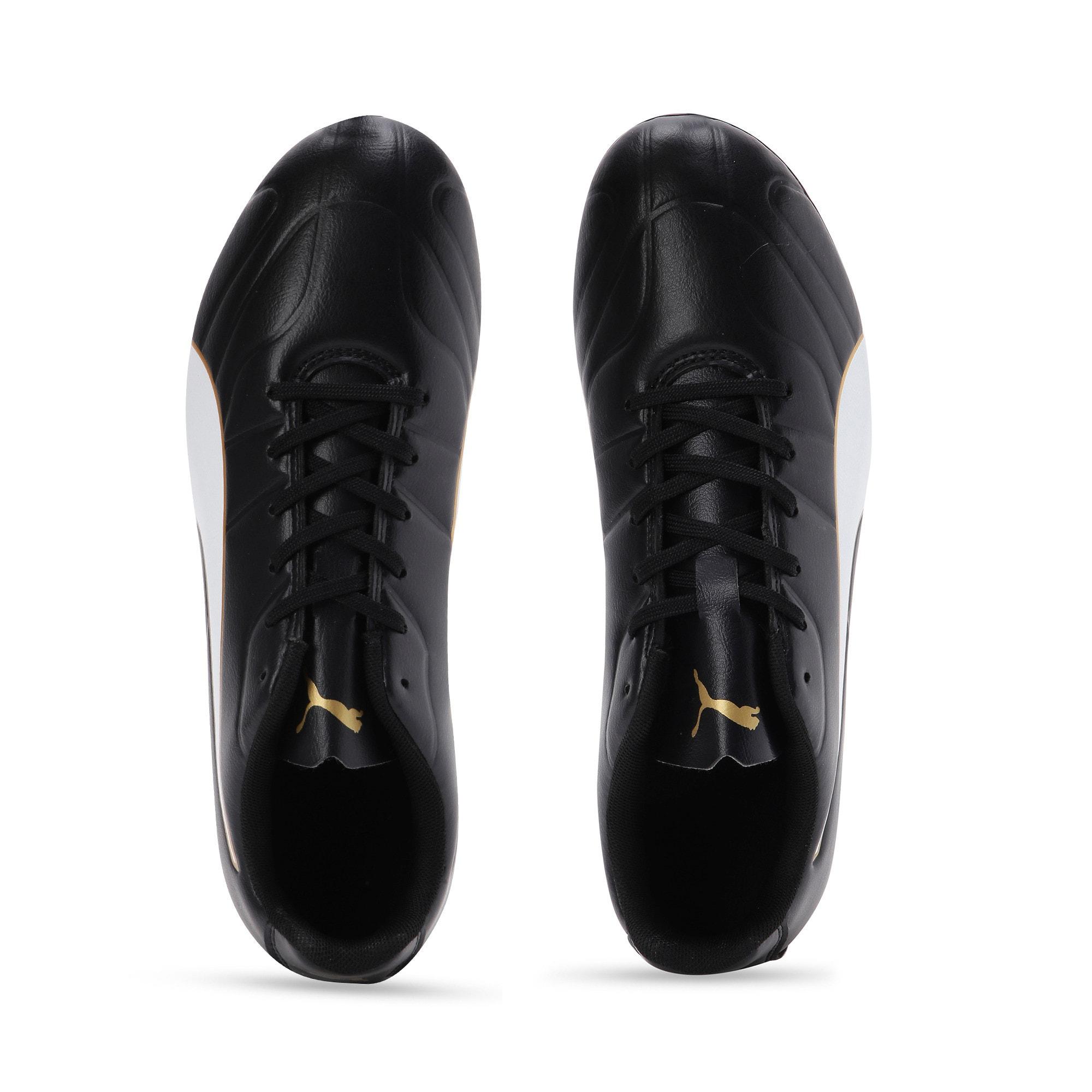 Thumbnail 4 of Classico C II FG Men's Football Boots, Black-White-Gold, medium-IND