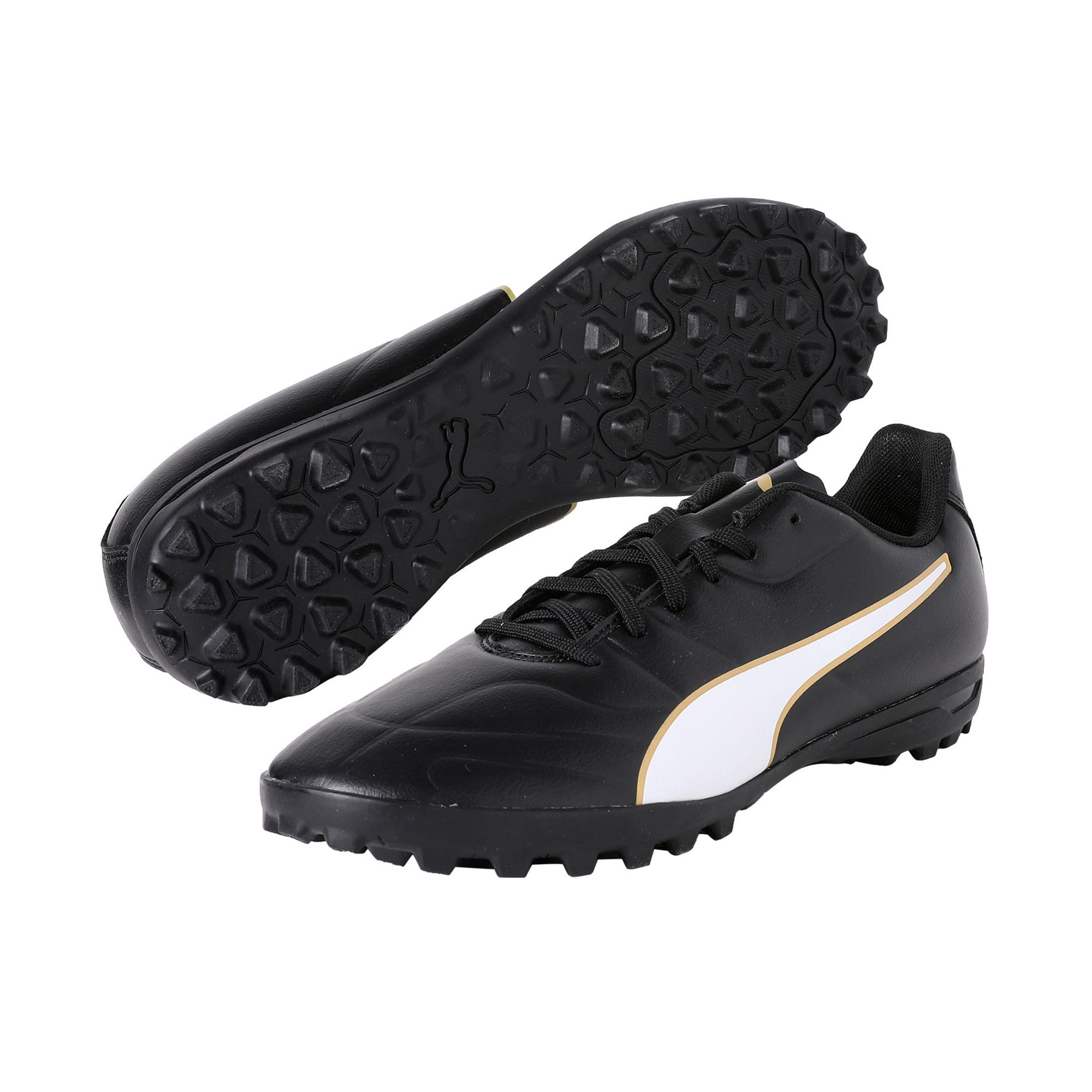 Thumbnail 2 of Classico C II Men's Football Boots, Black-White-Gold, medium-IND