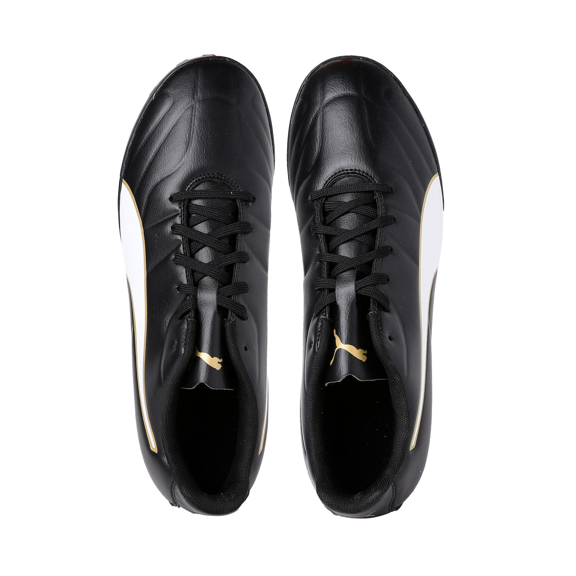 Thumbnail 6 of Classico C II Men's Football Boots, Black-White-Gold, medium-IND