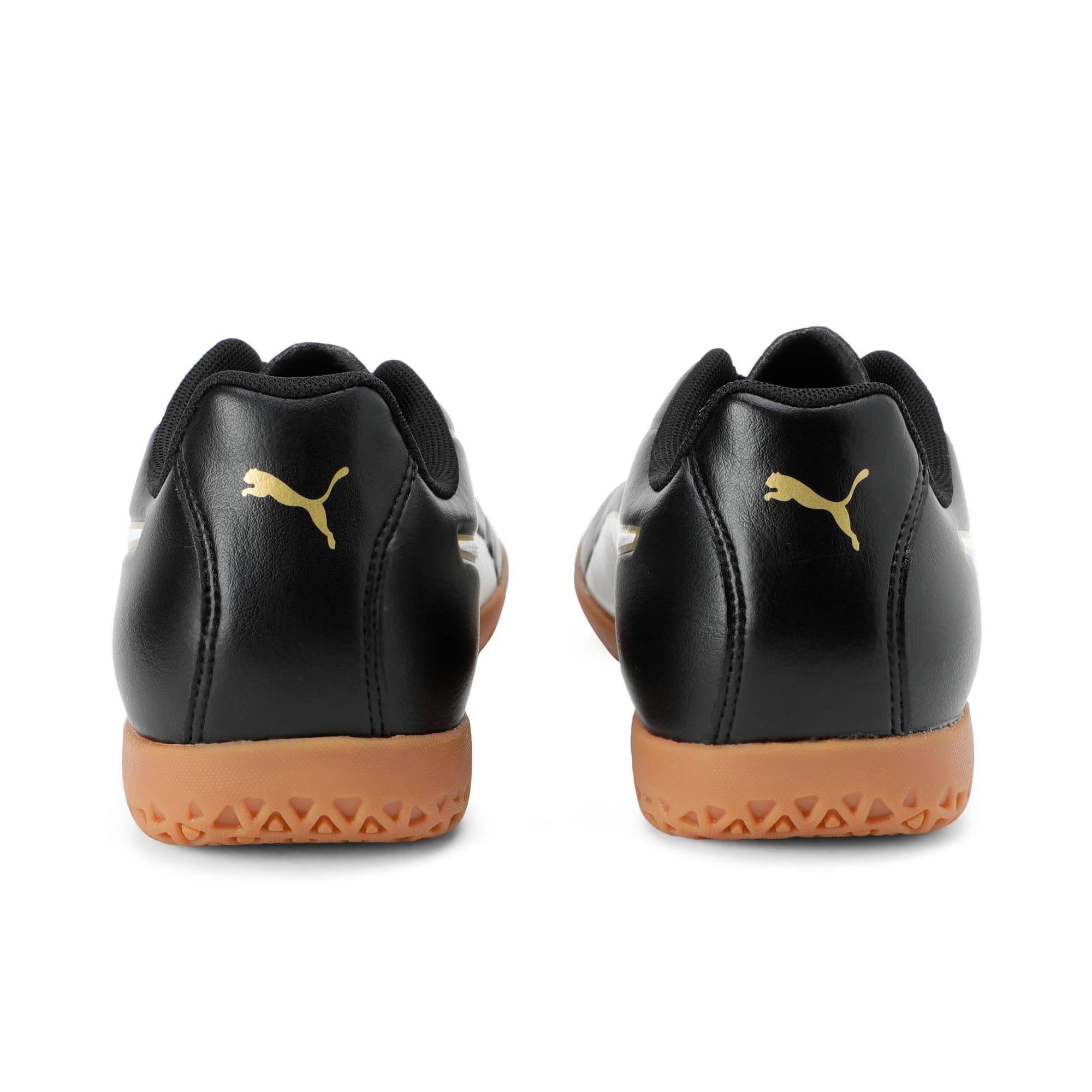 Thumbnail 2 of Classico C II Men's Football Boots, Puma Black-Puma White-Gold, medium-IND