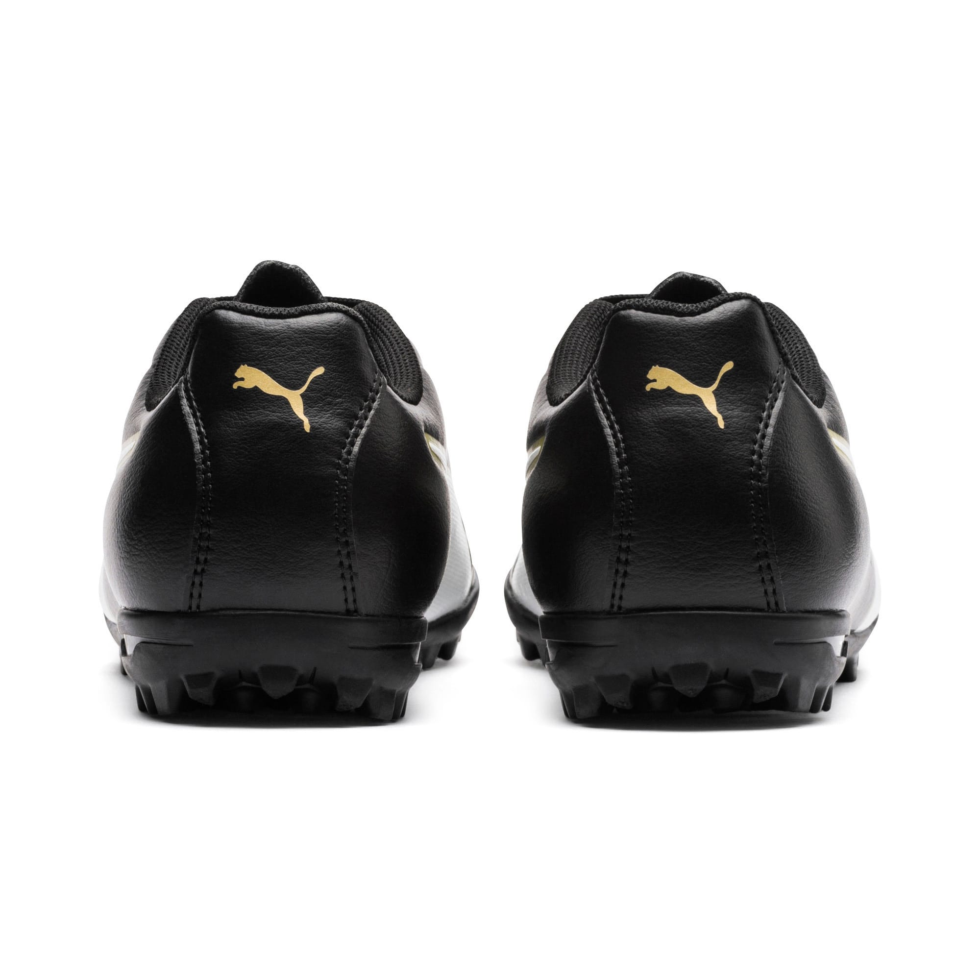 Thumbnail 3 of Classico C II TT Youth Football Boots, Black-White-Gold, medium-IND