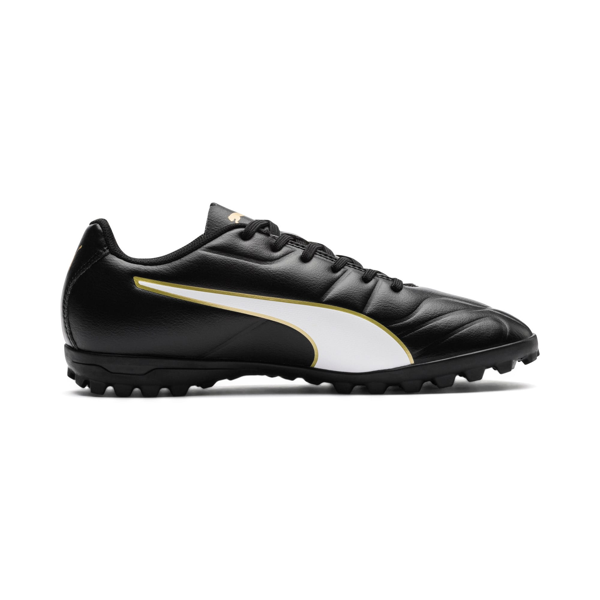 Thumbnail 5 of Classico C II TT Youth Football Boots, Black-White-Gold, medium-IND