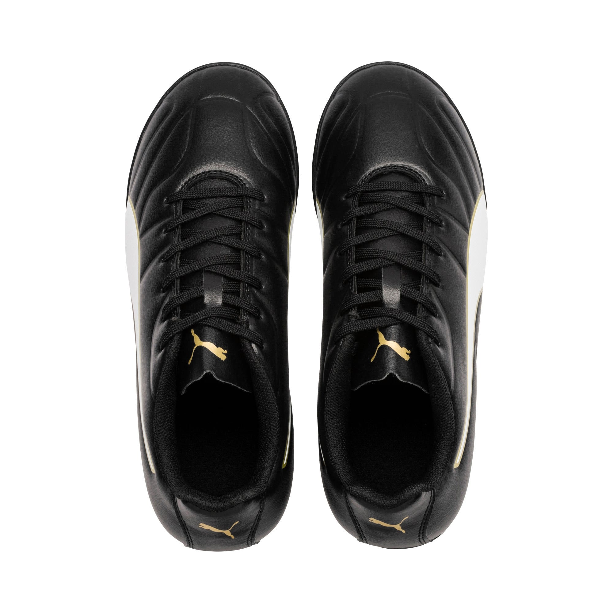 Thumbnail 6 of Classico C II TT Youth Football Boots, Black-White-Gold, medium-IND