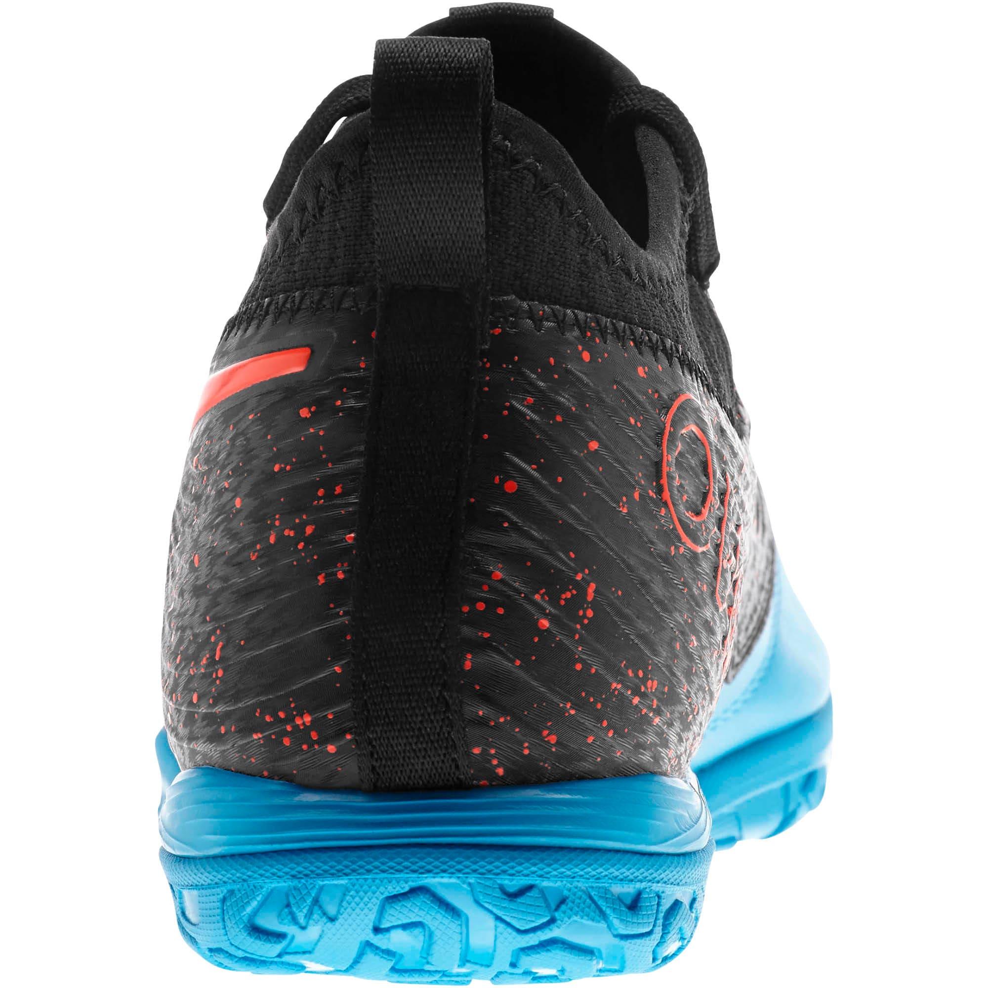 Thumbnail 3 of PUMA ONE 19.3 IT Men's Soccer Shoes, Bleu Azur-Red Blast-Black, medium