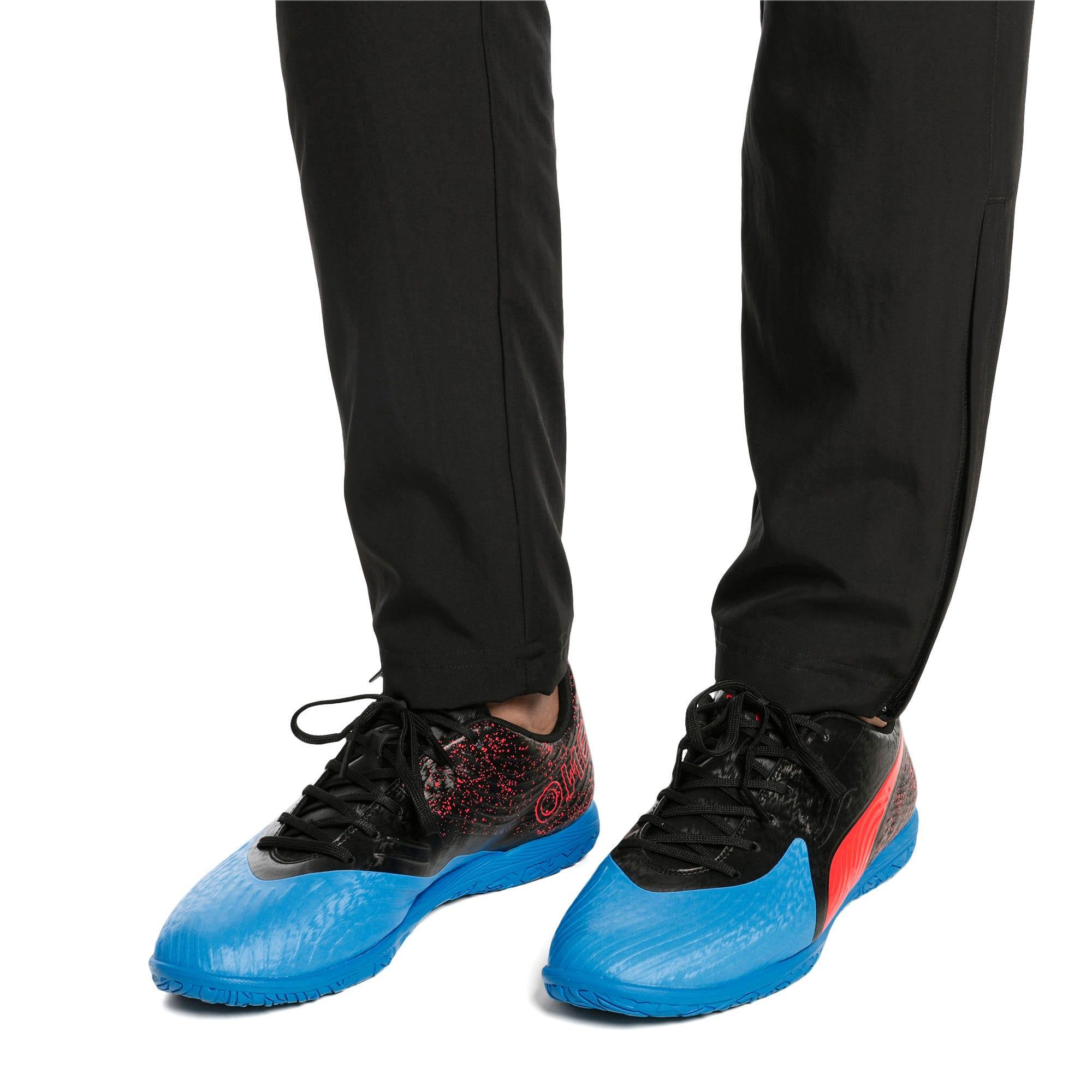 Thumbnail 2 of PUMA ONE 19.4 IT Men's Football Boots, Bleu Azur-Red Blast-Black, medium-IND