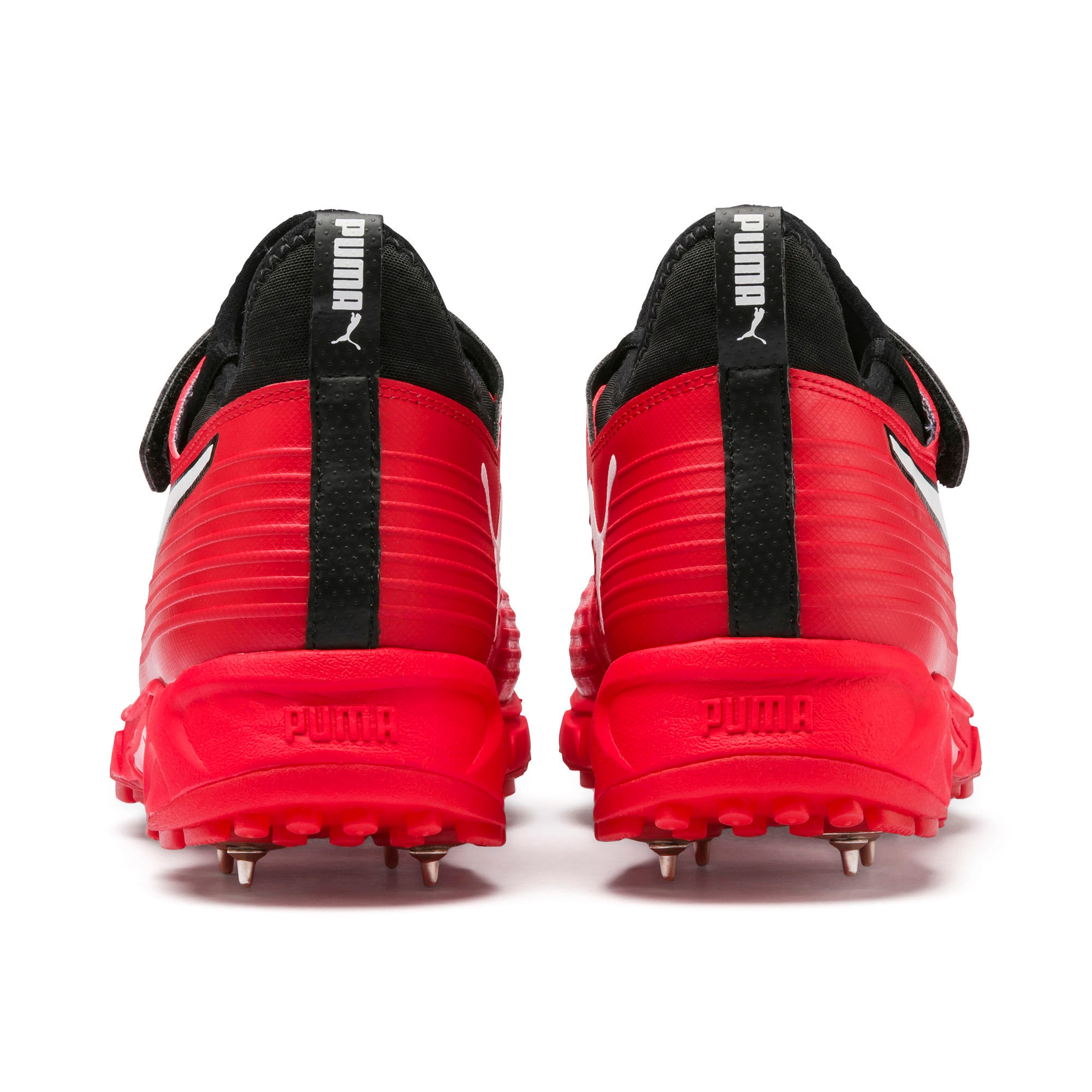 Thumbnail 3 of PUMA 19.1 Bowling Men's Cricket Shoes, High Risk Red-Black-White, medium-IND