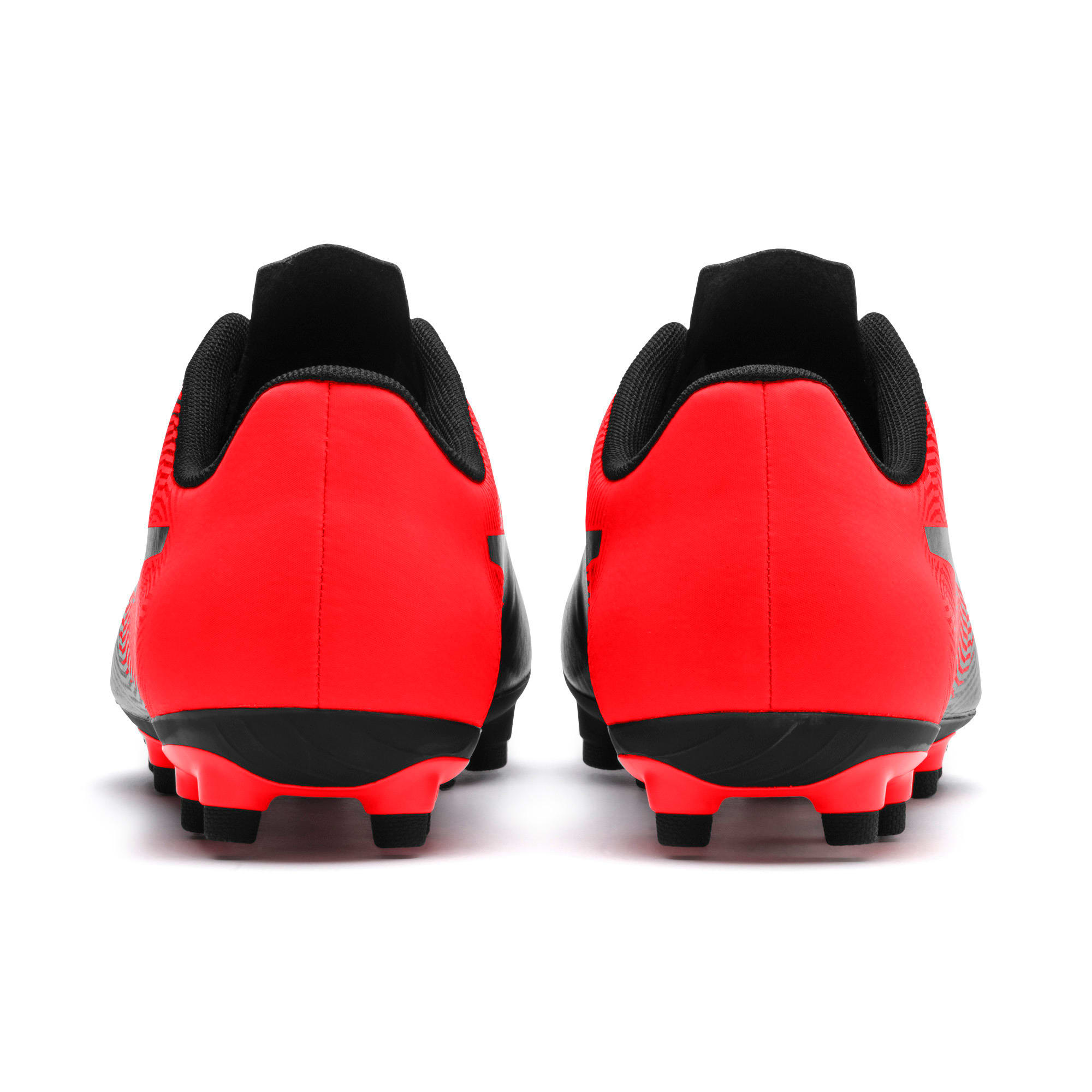 Thumbnail 4 of PUMA Spirit II FG Men's Soccer Cleats, Puma Black-Red Blast, medium