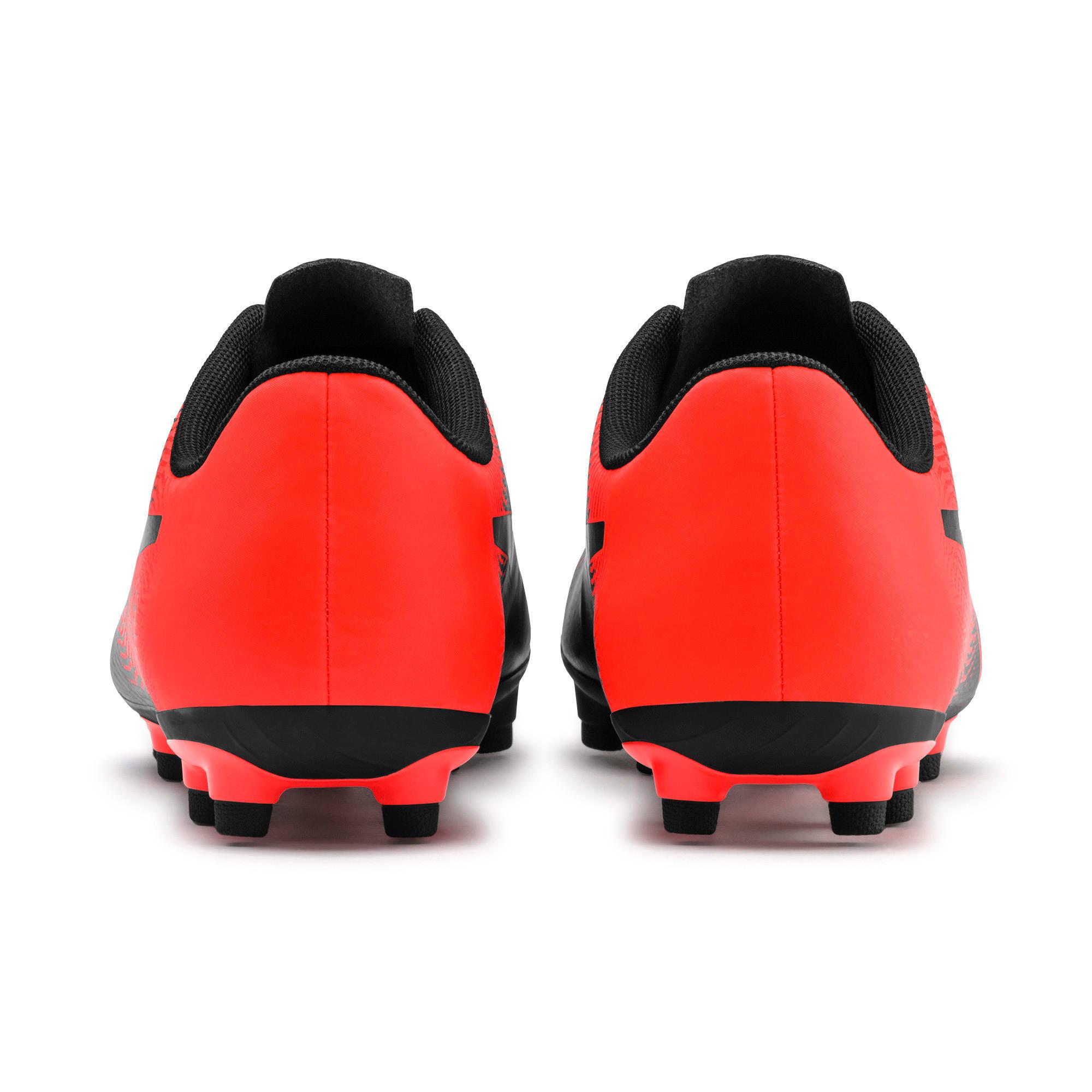 Thumbnail 5 of PUMA Spirit II FG Men's Football Boots, Puma Black-Nrgy Red, medium-IND