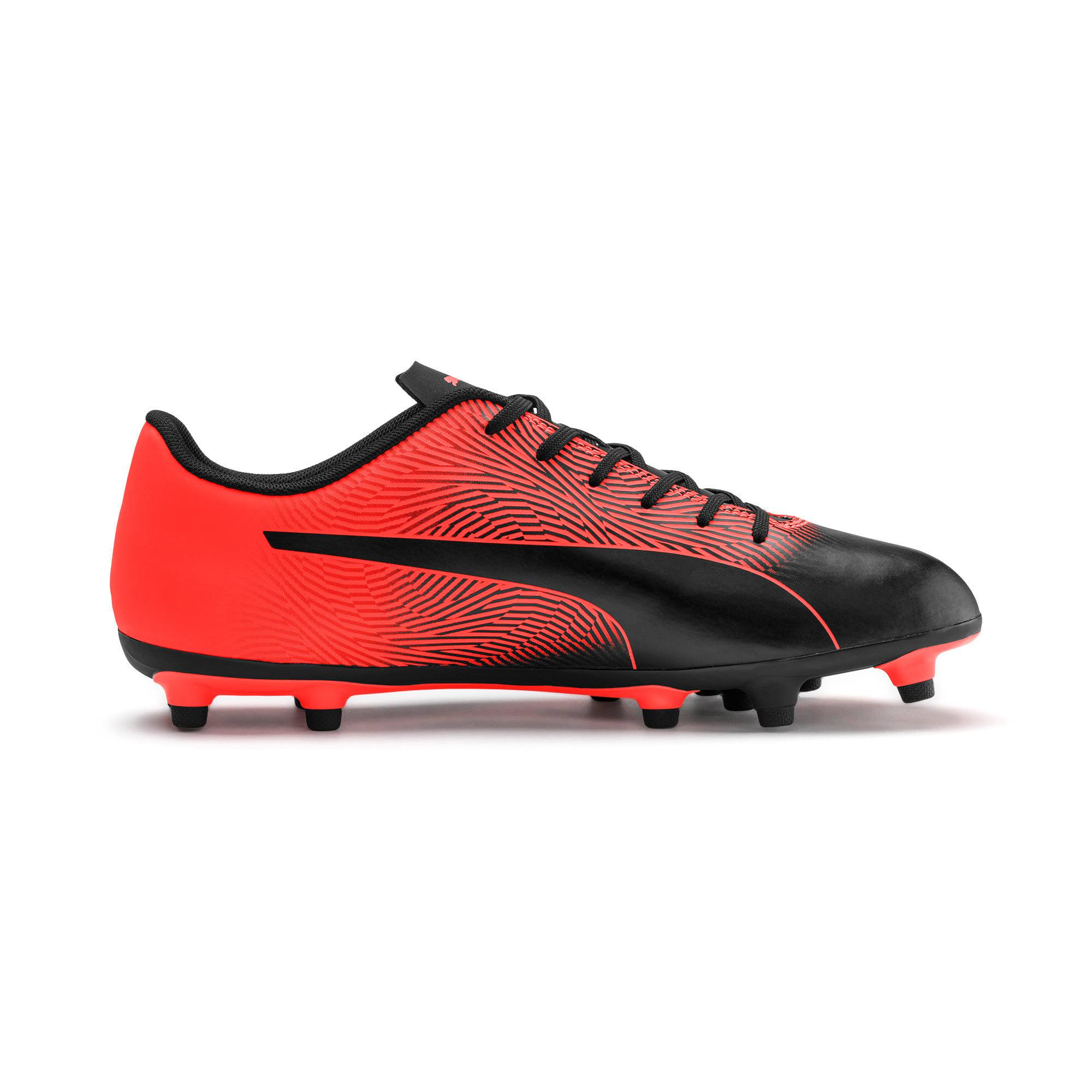 Thumbnail 7 of PUMA Spirit II FG Men's Football Boots, Puma Black-Nrgy Red, medium-IND