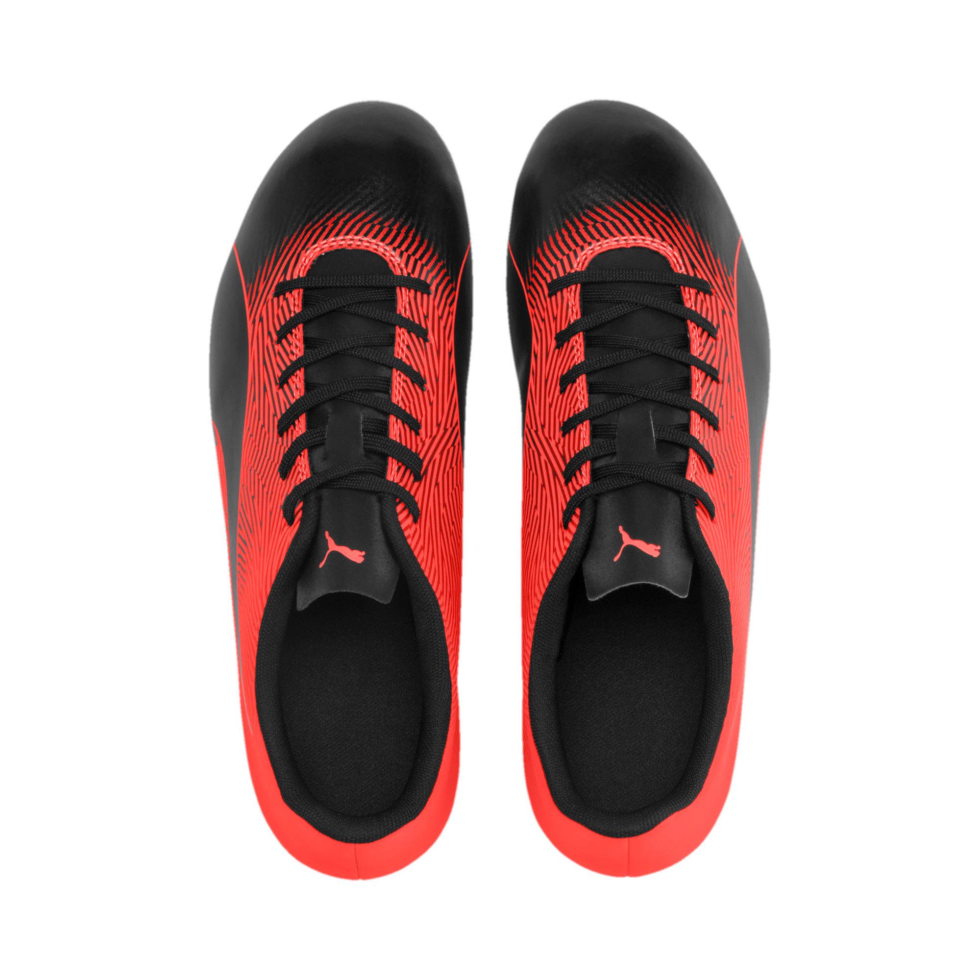 Thumbnail 8 of PUMA Spirit II FG Men's Football Boots, Puma Black-Nrgy Red, medium-IND