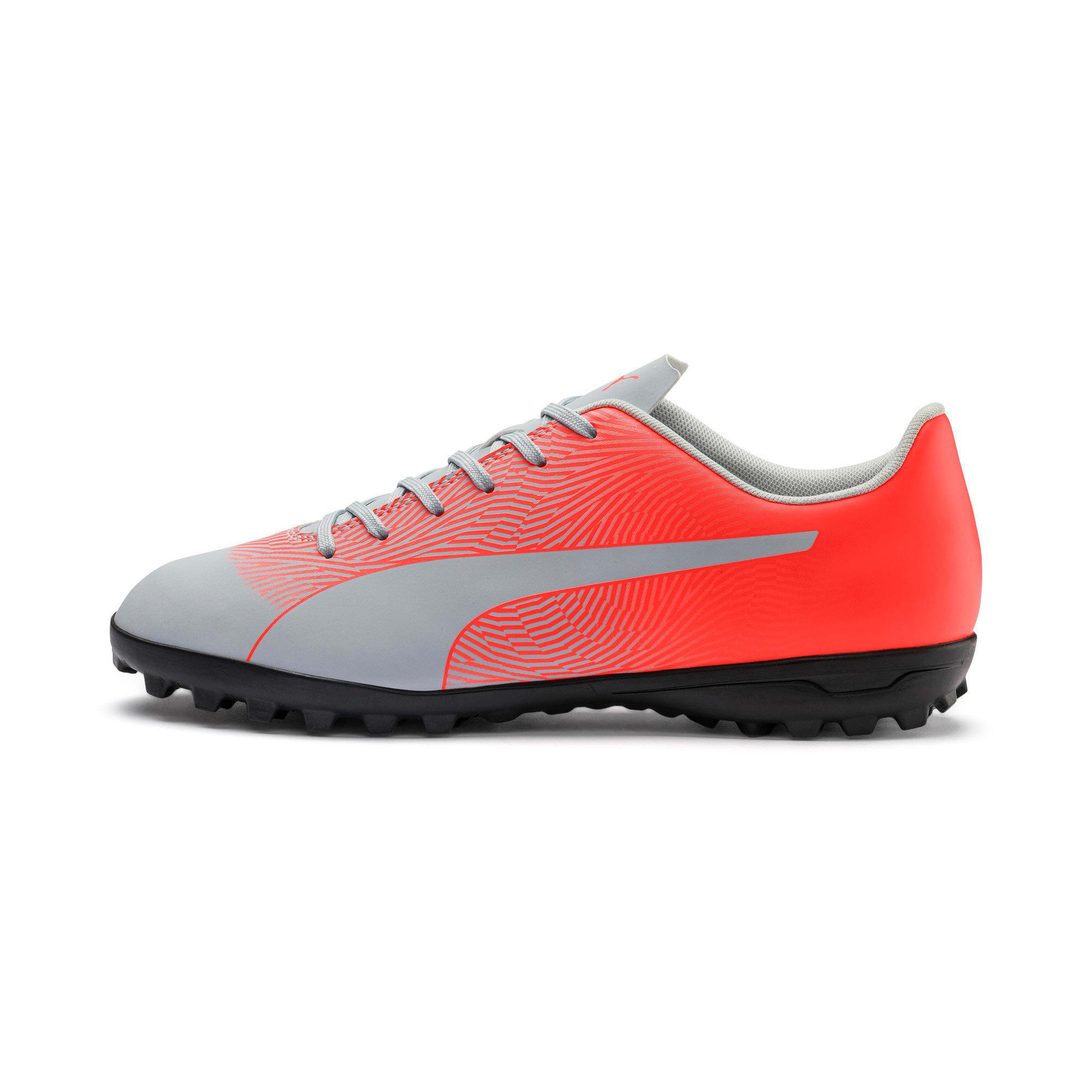 Thumbnail 1 of PUMA Spirit II TT Men's Soccer Shoes, Glacial Blue-Nrgy Red, medium