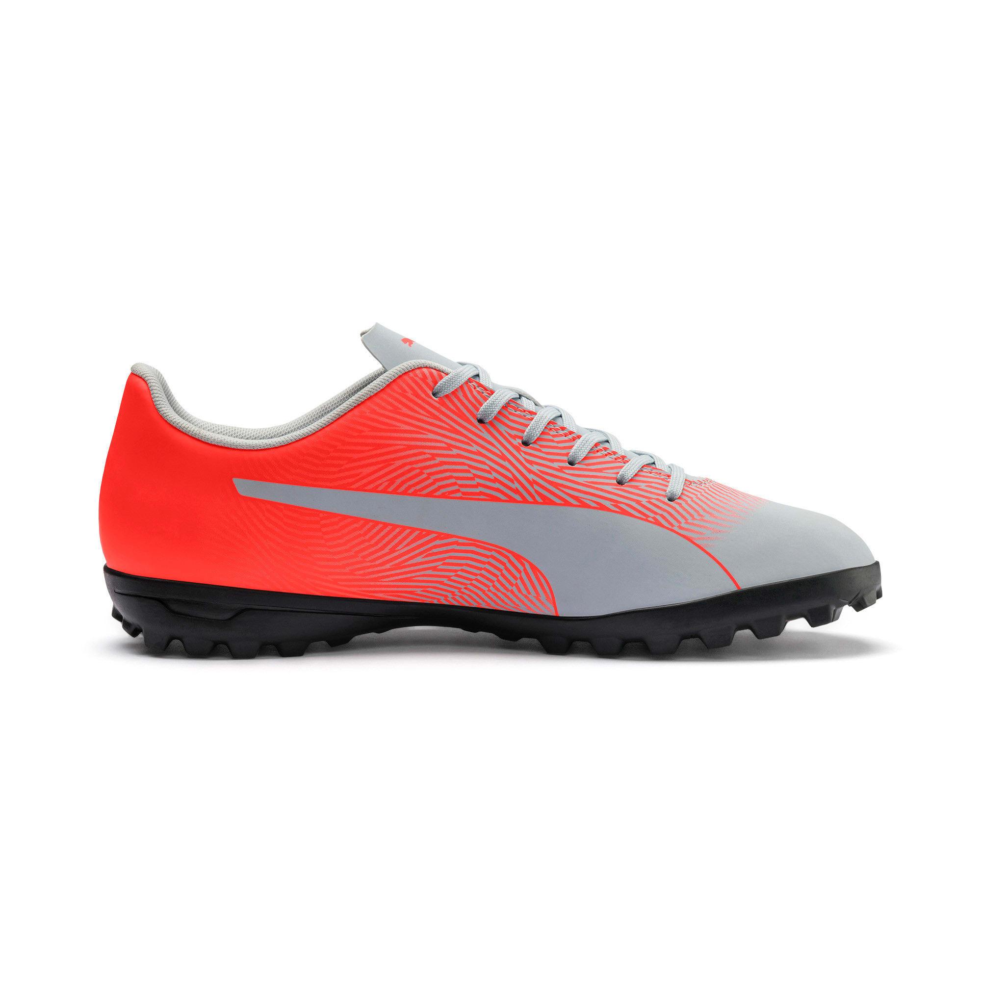 Thumbnail 6 of PUMA Spirit II TT Men's Soccer Shoes, Glacial Blue-Nrgy Red, medium