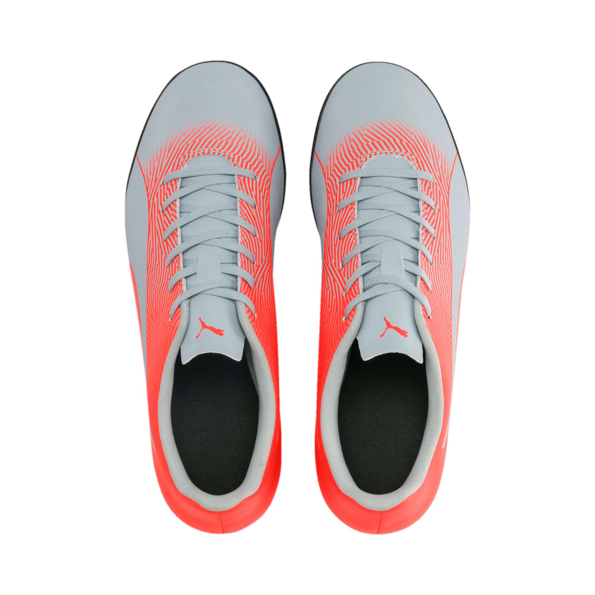 Thumbnail 7 of PUMA Spirit II TT Men's Soccer Shoes, Glacial Blue-Nrgy Red, medium