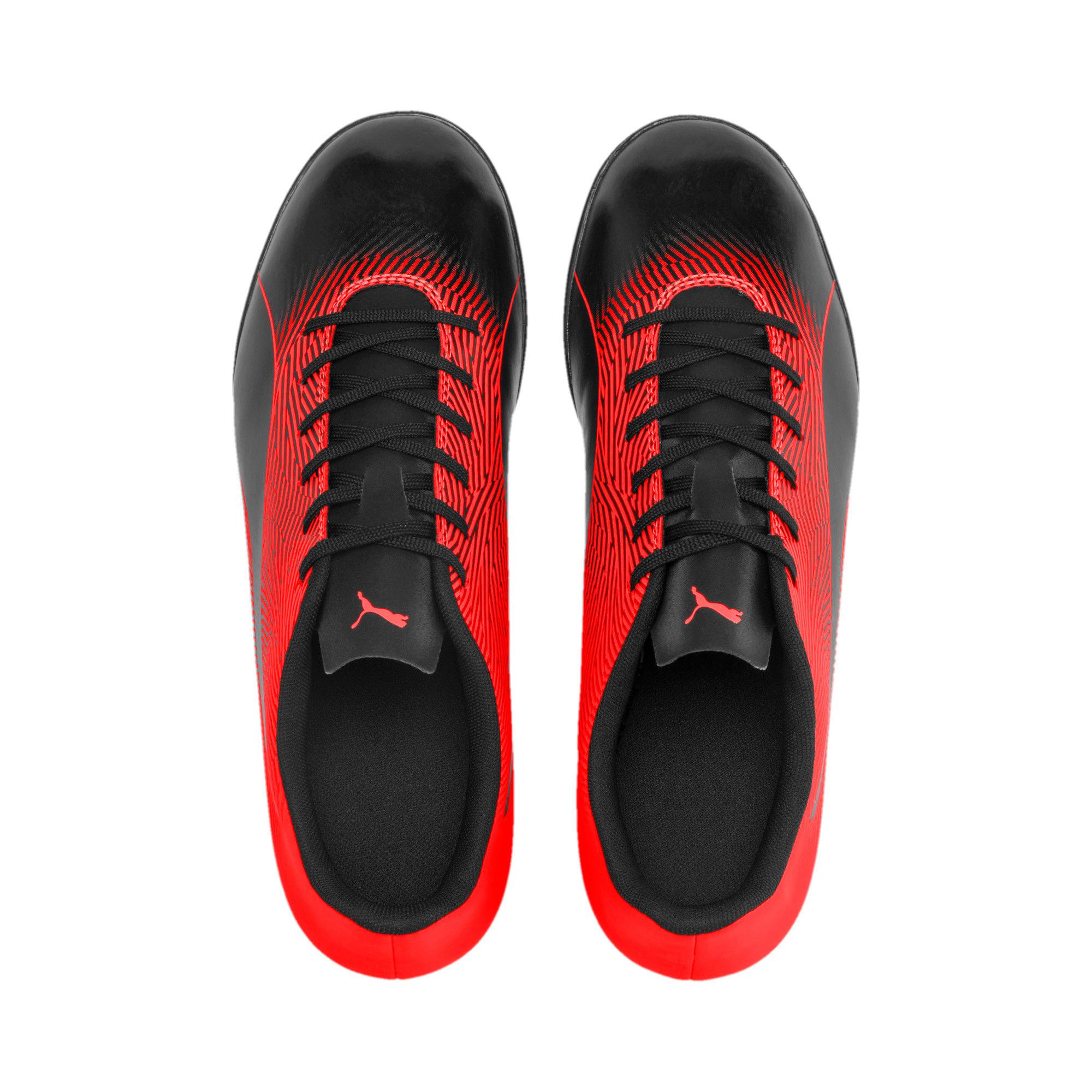 Thumbnail 7 of PUMA Spirit II TT Men's Soccer Shoes, Puma Black-Nrgy Red, medium