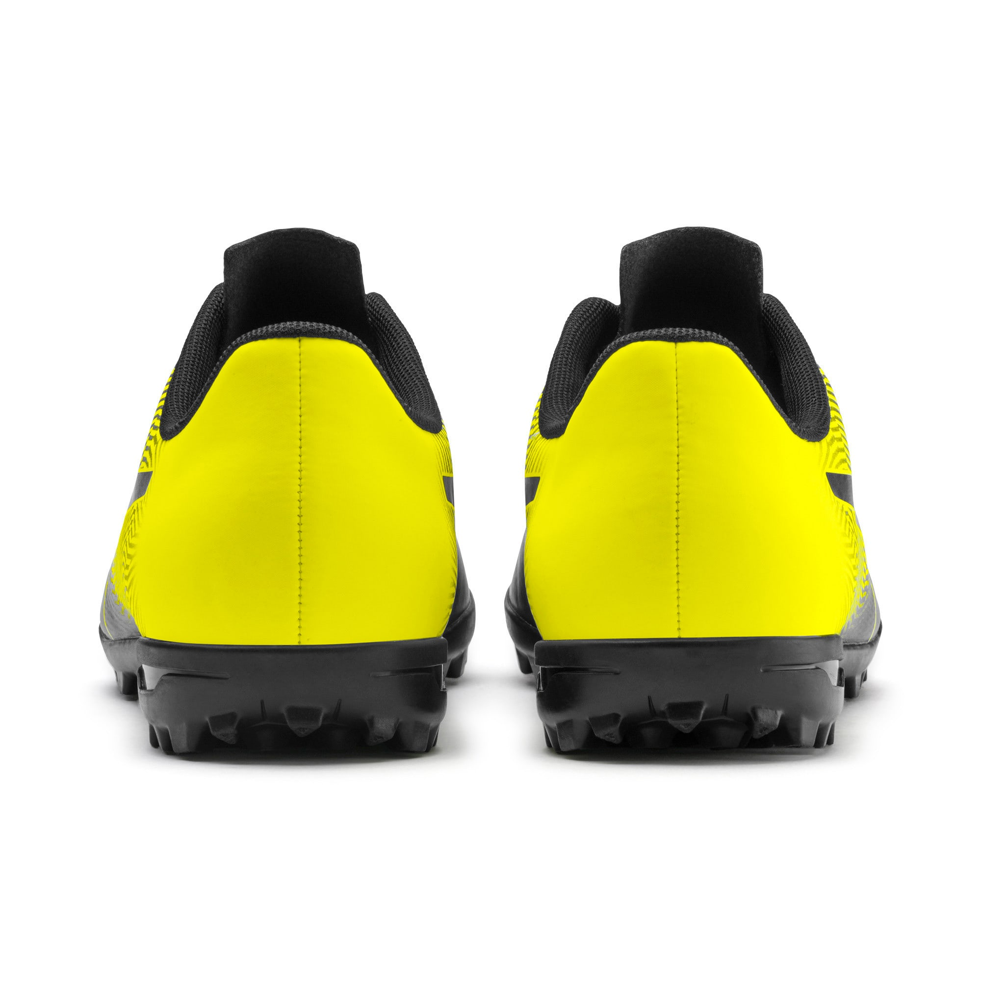 Thumbnail 4 of PUMA Spirit II TT Men's Soccer Shoes, Puma Black-Yellow Alert, medium