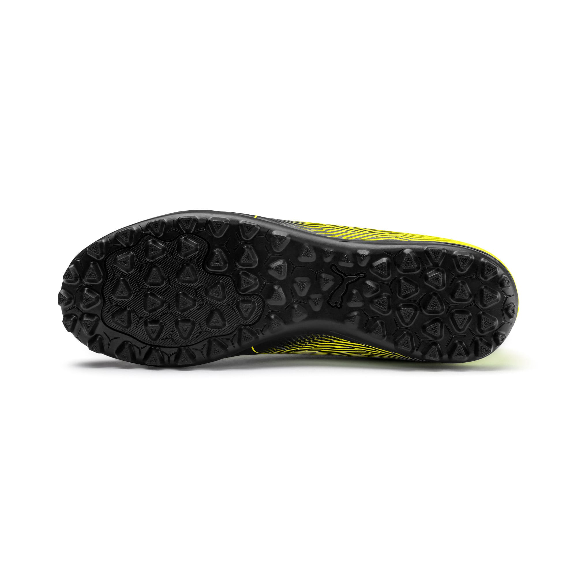 Thumbnail 5 of PUMA Spirit II TT Men's Soccer Shoes, Puma Black-Yellow Alert, medium