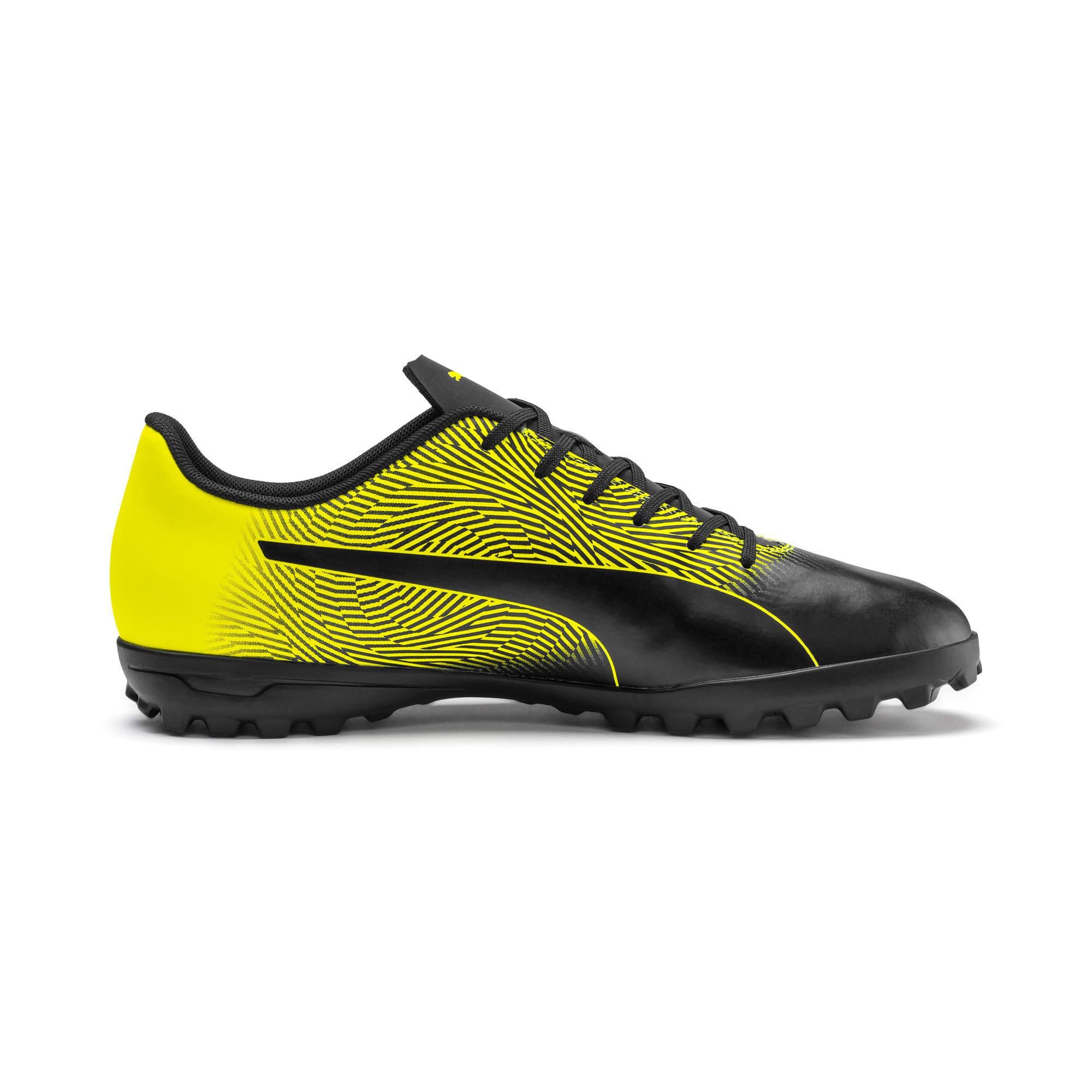 Thumbnail 6 of PUMA Spirit II TT Men's Soccer Shoes, Puma Black-Yellow Alert, medium