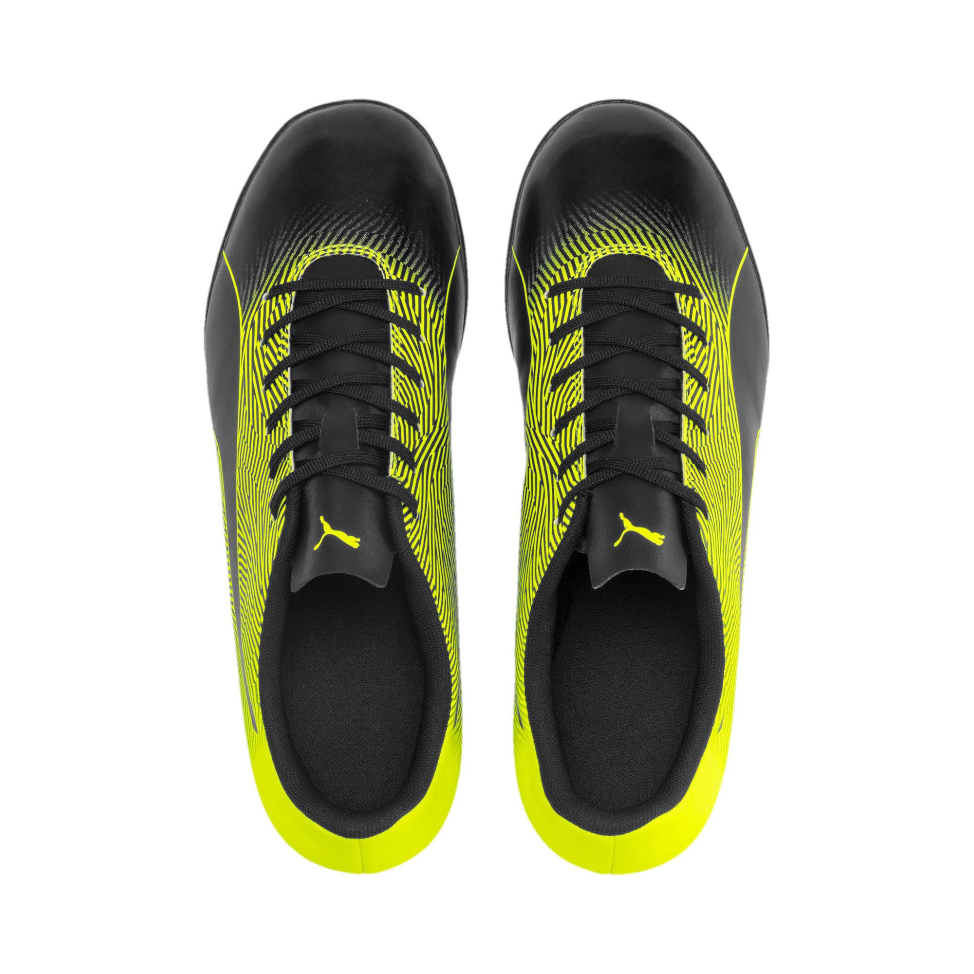 Thumbnail 7 of PUMA Spirit II TT Men's Soccer Shoes, Puma Black-Yellow Alert, medium
