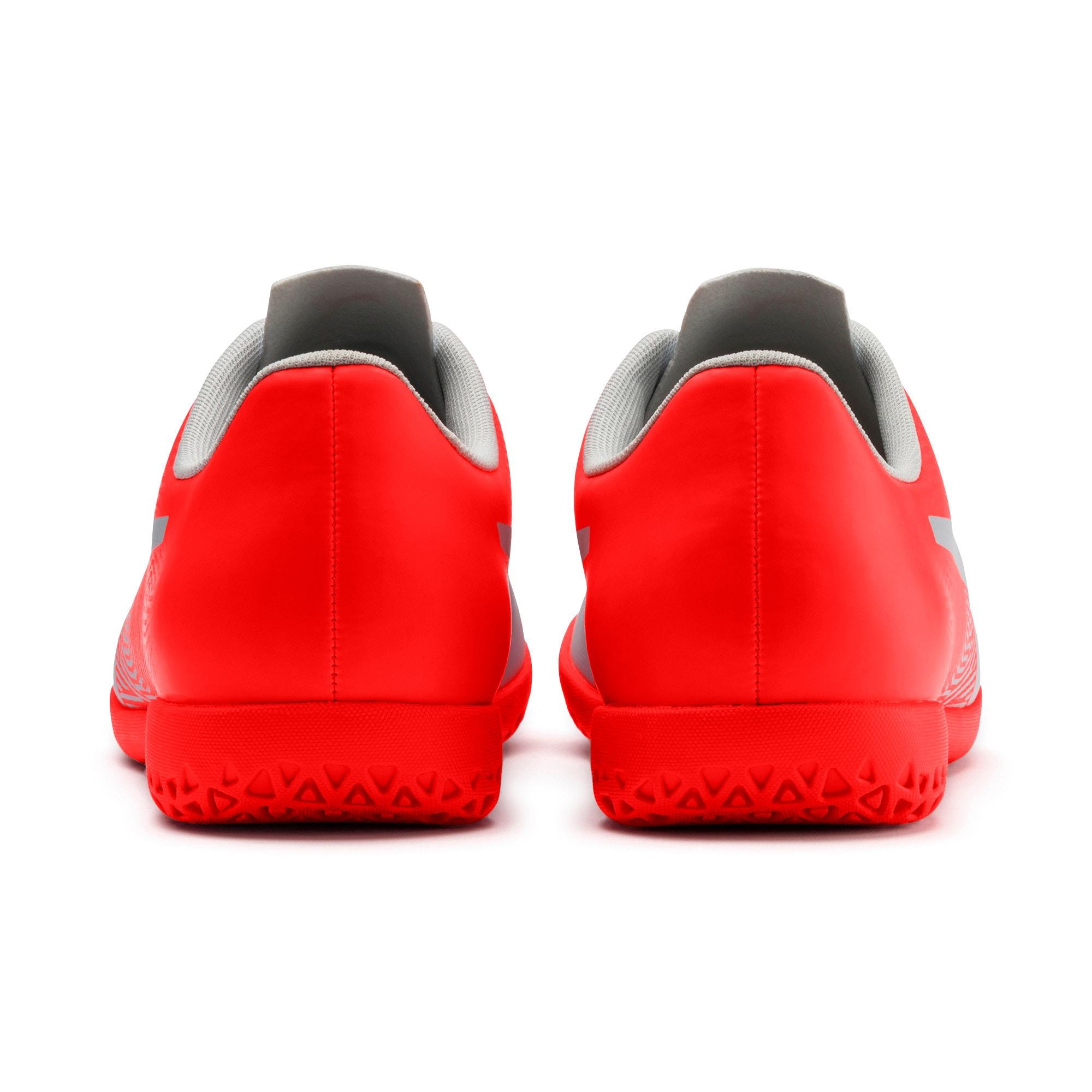 Thumbnail 4 of PUMA Spirit II IT Men's Soccer Shoes, Glacial Blue-Nrgy Red, medium