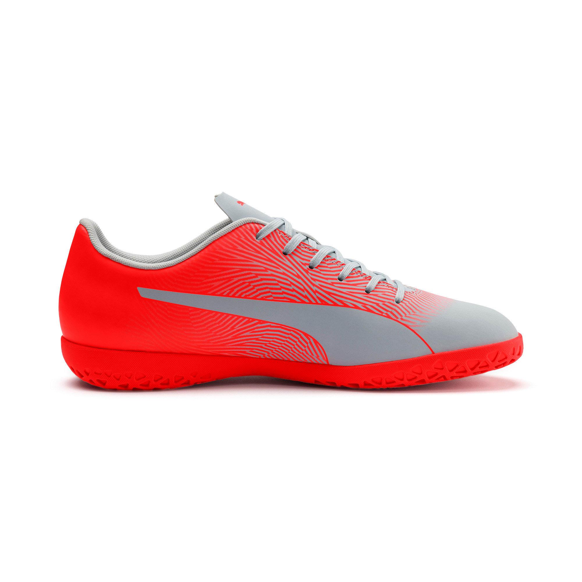 Thumbnail 6 of PUMA Spirit II IT Men's Soccer Shoes, Glacial Blue-Nrgy Red, medium