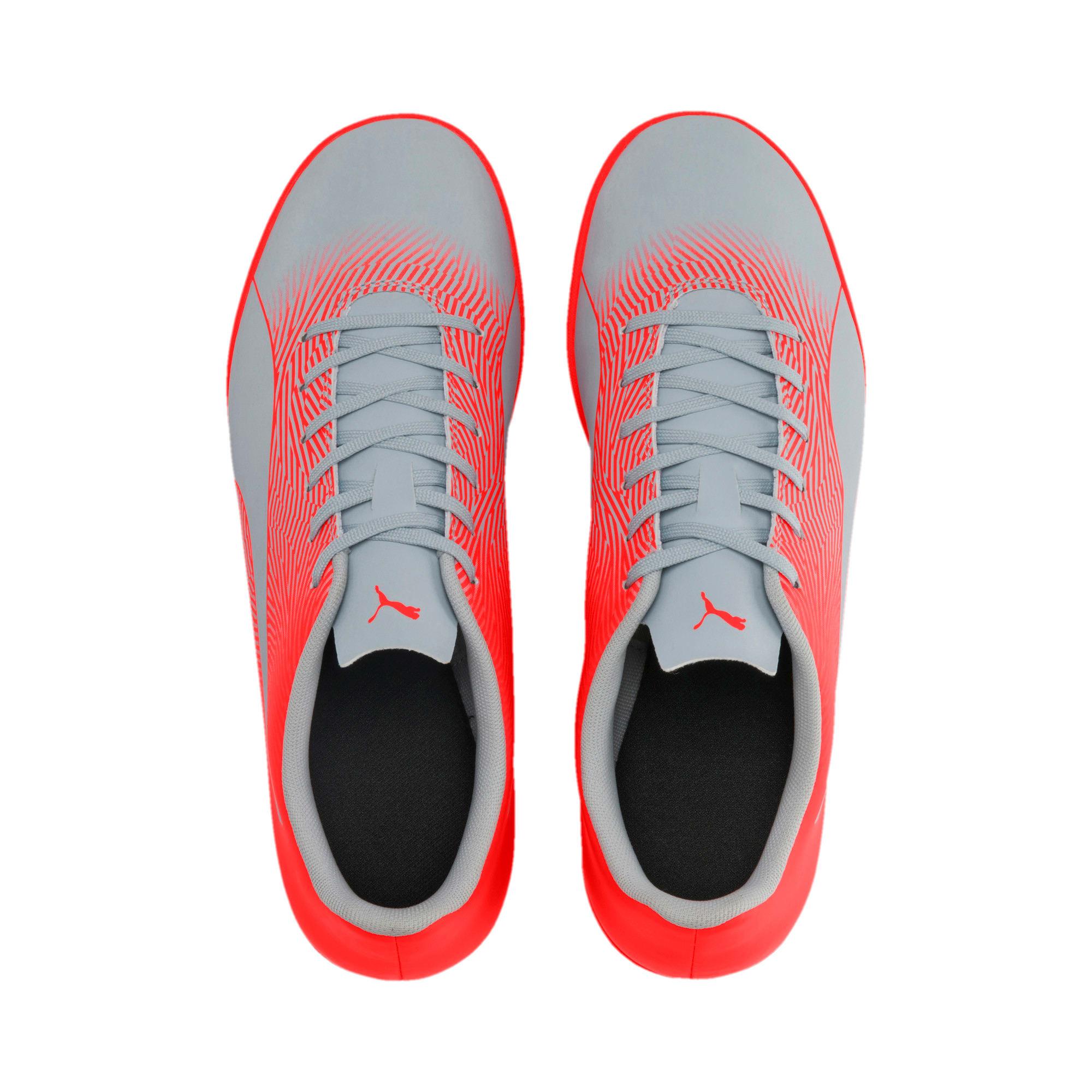 Thumbnail 7 of PUMA Spirit II IT Men's Soccer Shoes, Glacial Blue-Nrgy Red, medium