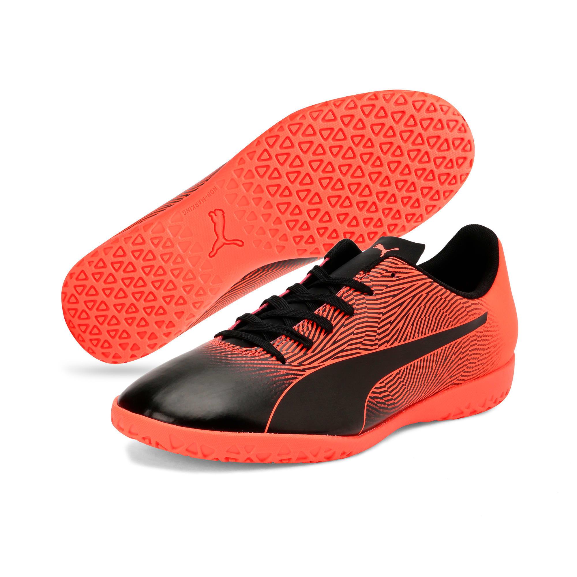 Thumbnail 3 of PUMA Spirit II IT Men's Football Boots, Puma Black-Nrgy Red, medium-IND