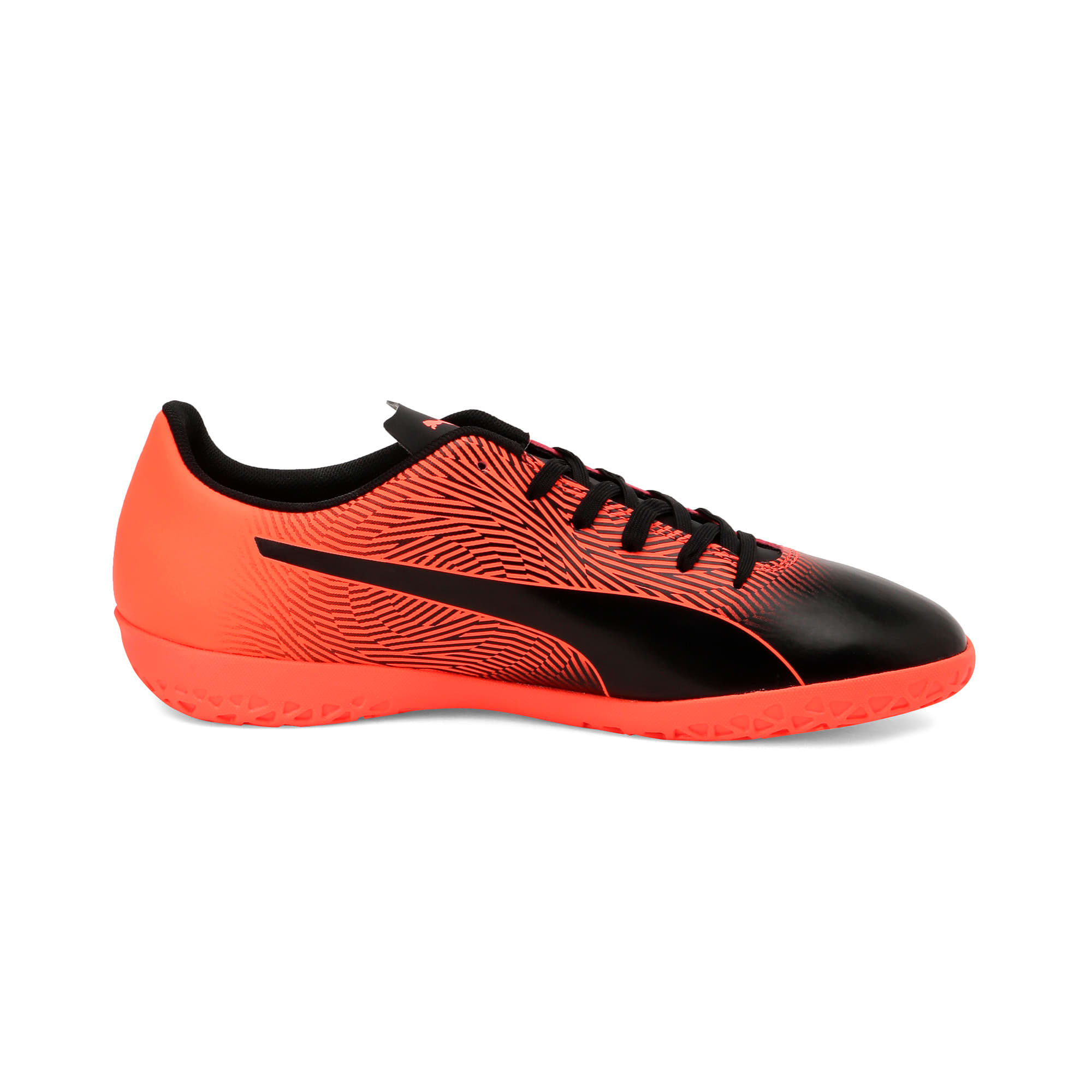 Thumbnail 6 of PUMA Spirit II IT Men's Football Boots, Puma Black-Nrgy Red, medium-IND