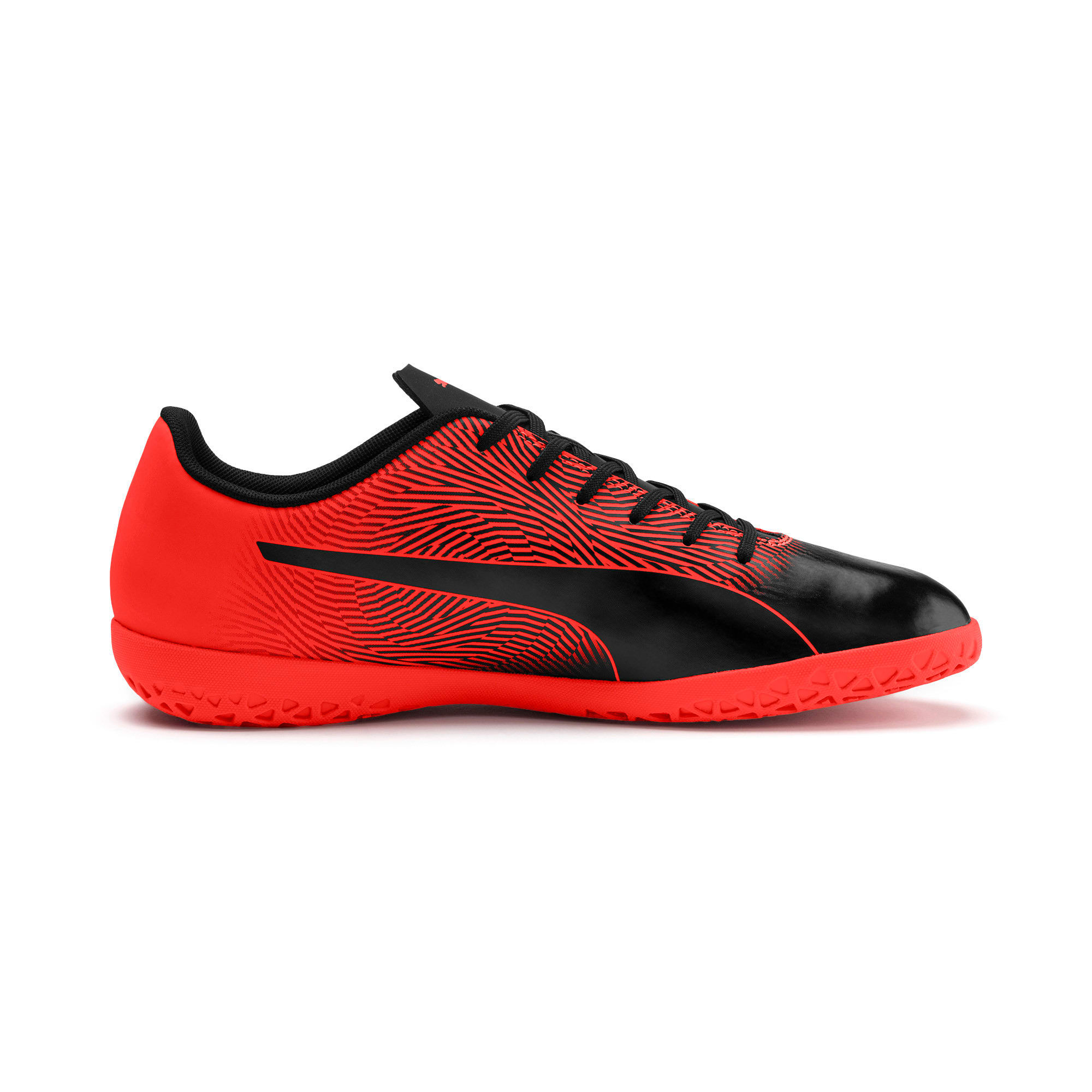 PUMA Spirit II IT Men's Soccer Shoes, Puma Black-Nrgy Red, large