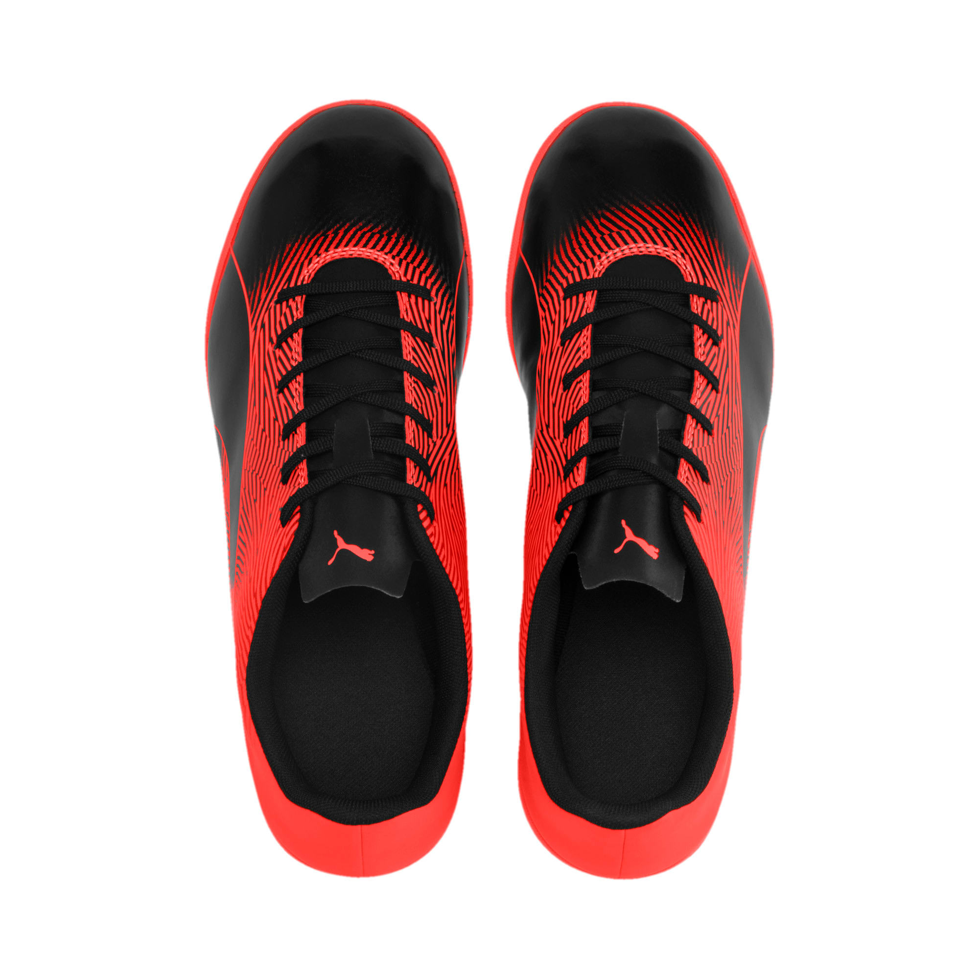 Thumbnail 7 of PUMA Spirit II IT Men's Soccer Shoes, Puma Black-Nrgy Red, medium