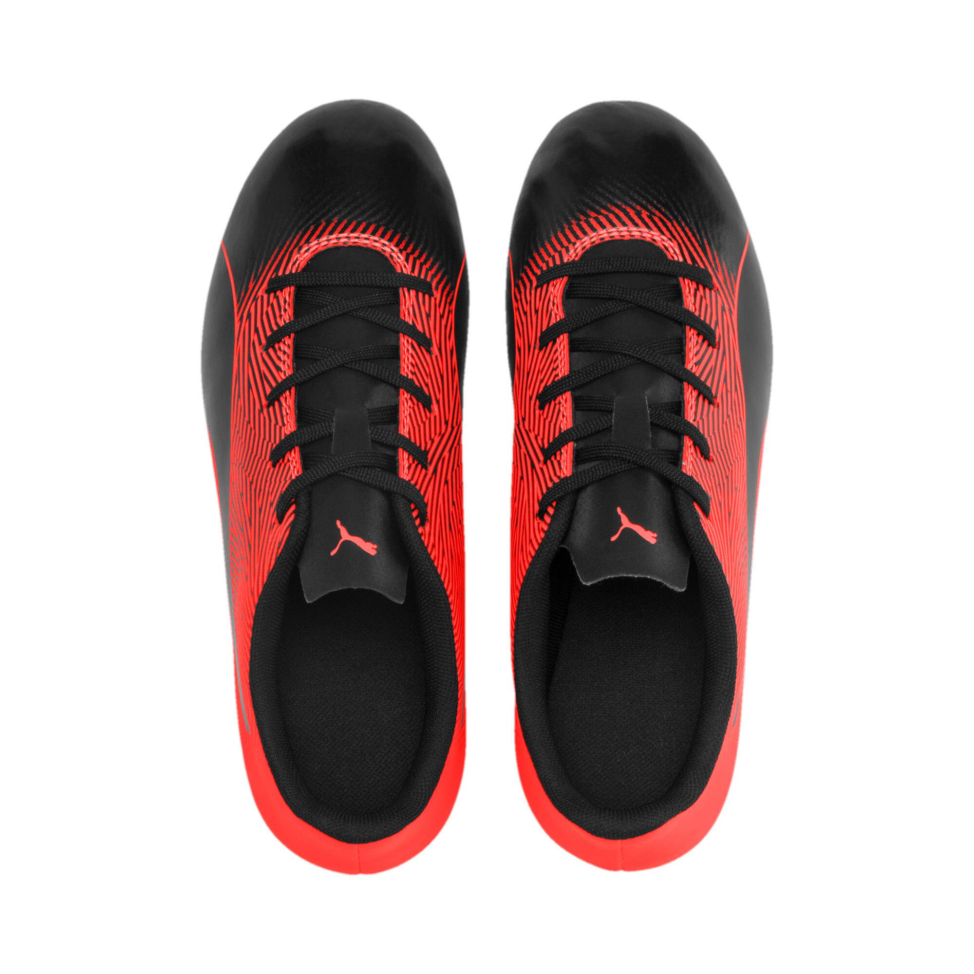 Thumbnail 2 of PUMA Spirit II FG Youth Football Boots, Puma Black-Nrgy Red, medium-IND