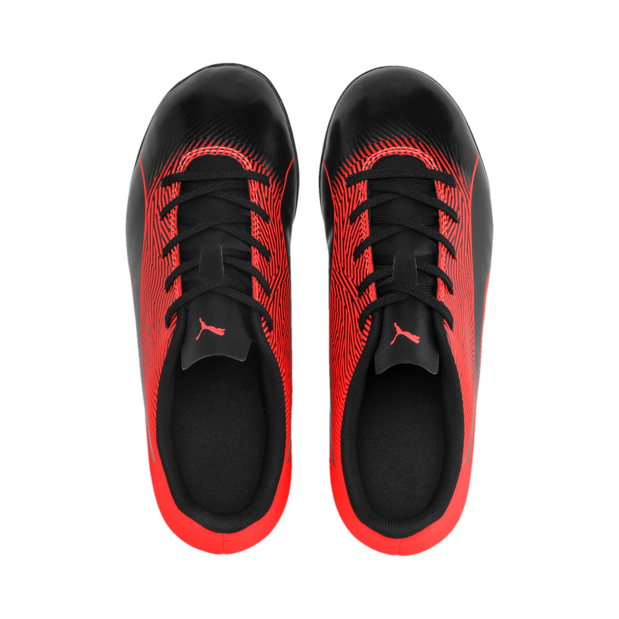PUMA Spirit II TT Youth Football Boots, Puma Black-Nrgy Red, large-IND