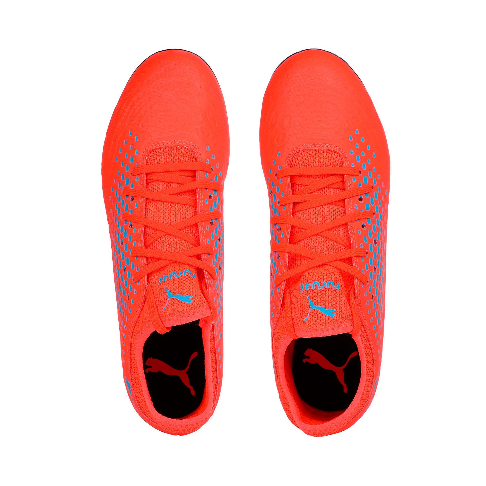 Thumbnail 6 of FUTURE 19.4 SG Men's Football Boots, Red Blast-Bleu Azur, medium-IND