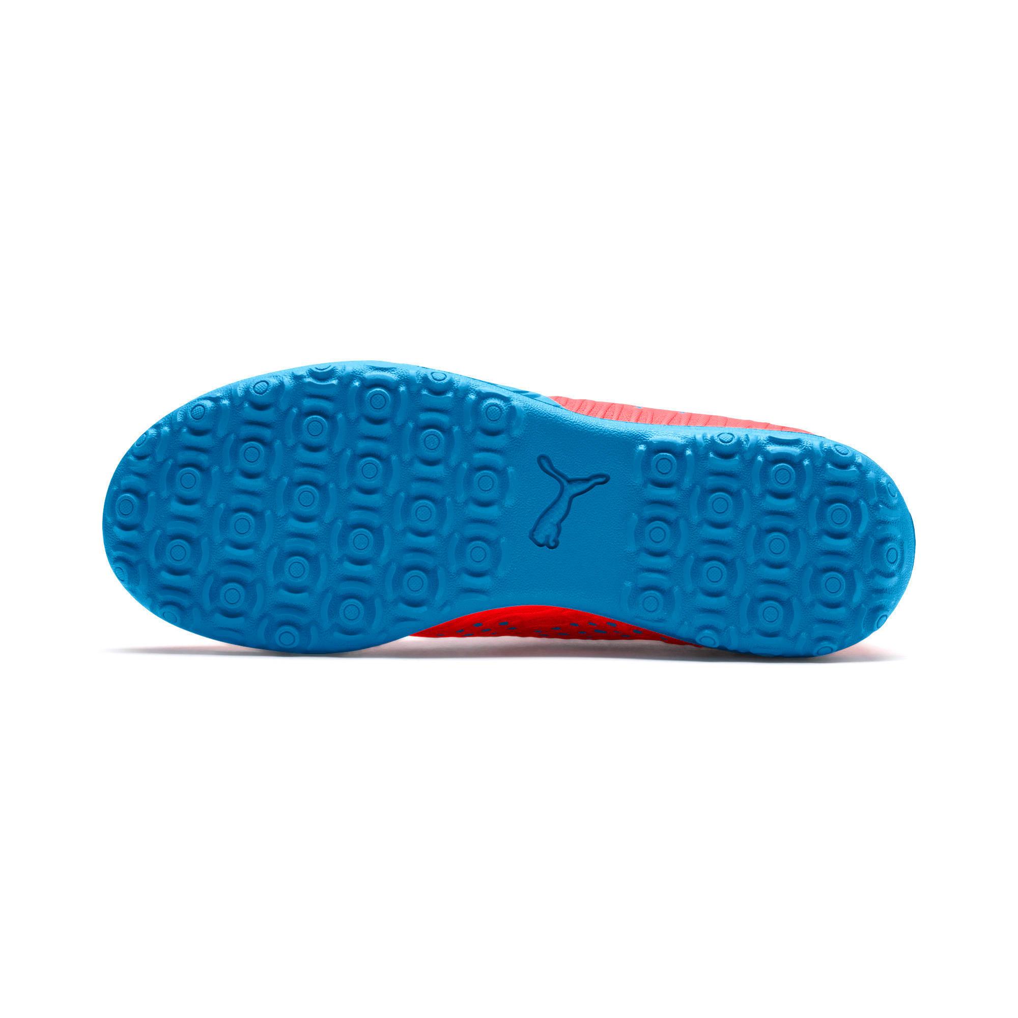 Thumbnail 4 of FUTURE 19.4 TT Soccer Shoes JR, Red Blast-Bleu Azur, medium
